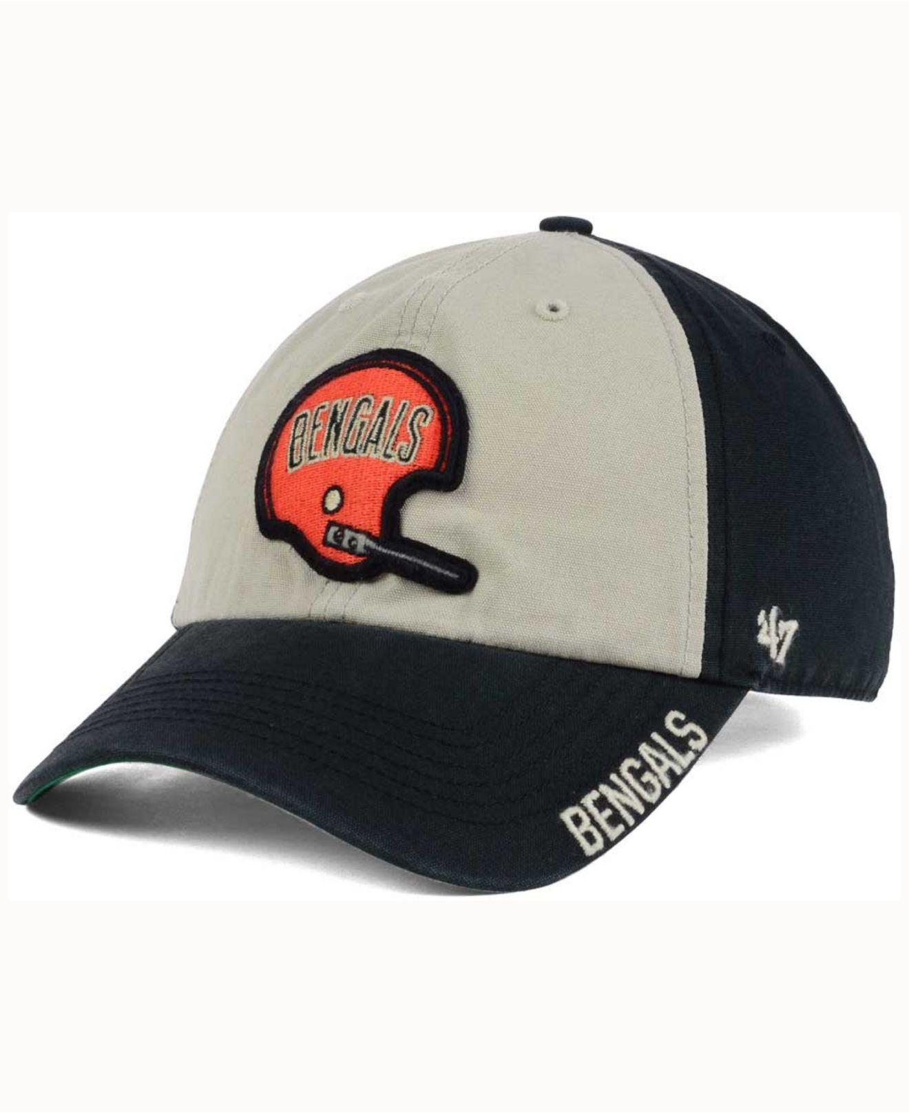 best service 2f362 6572c Lyst - 47 Brand Middlebrook Clean Up Cap in Black for Men