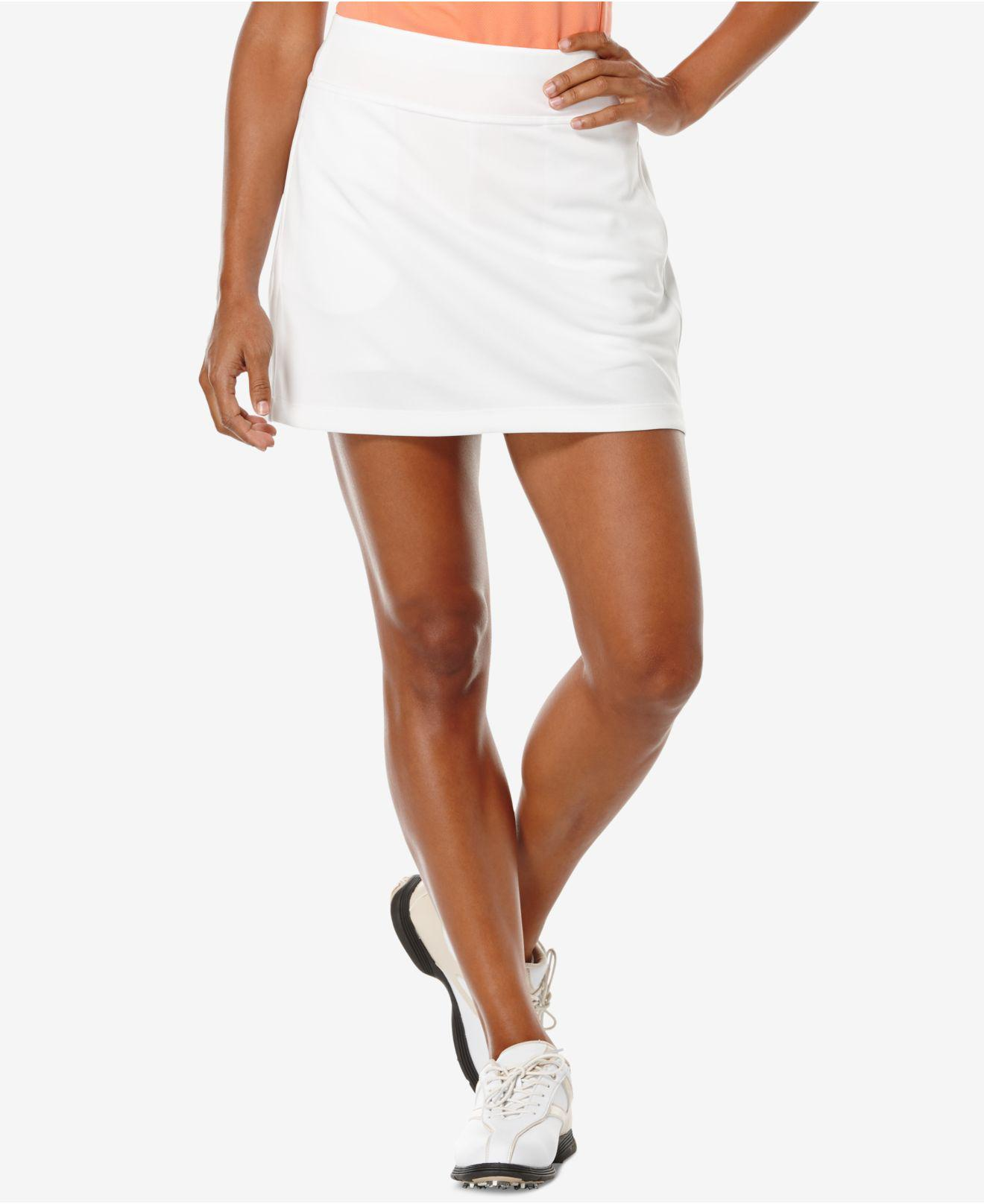 5d5c705133 Lyst - PGA TOUR Airflux Golf Skort in White