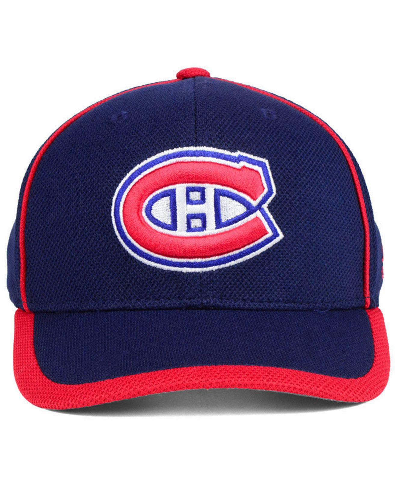 Lyst - Adidas Montreal Canadiens Clipper Adjustable Cap in Blue for Men f468866f9c82
