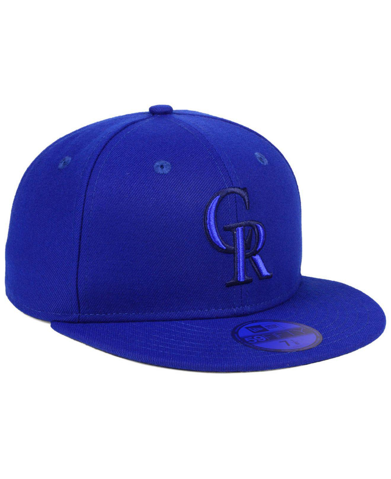buy popular c924e a4506 ... coupon for lyst ktz colorado rockies prism color pack 59fifty fitted cap  in 79324 8e325