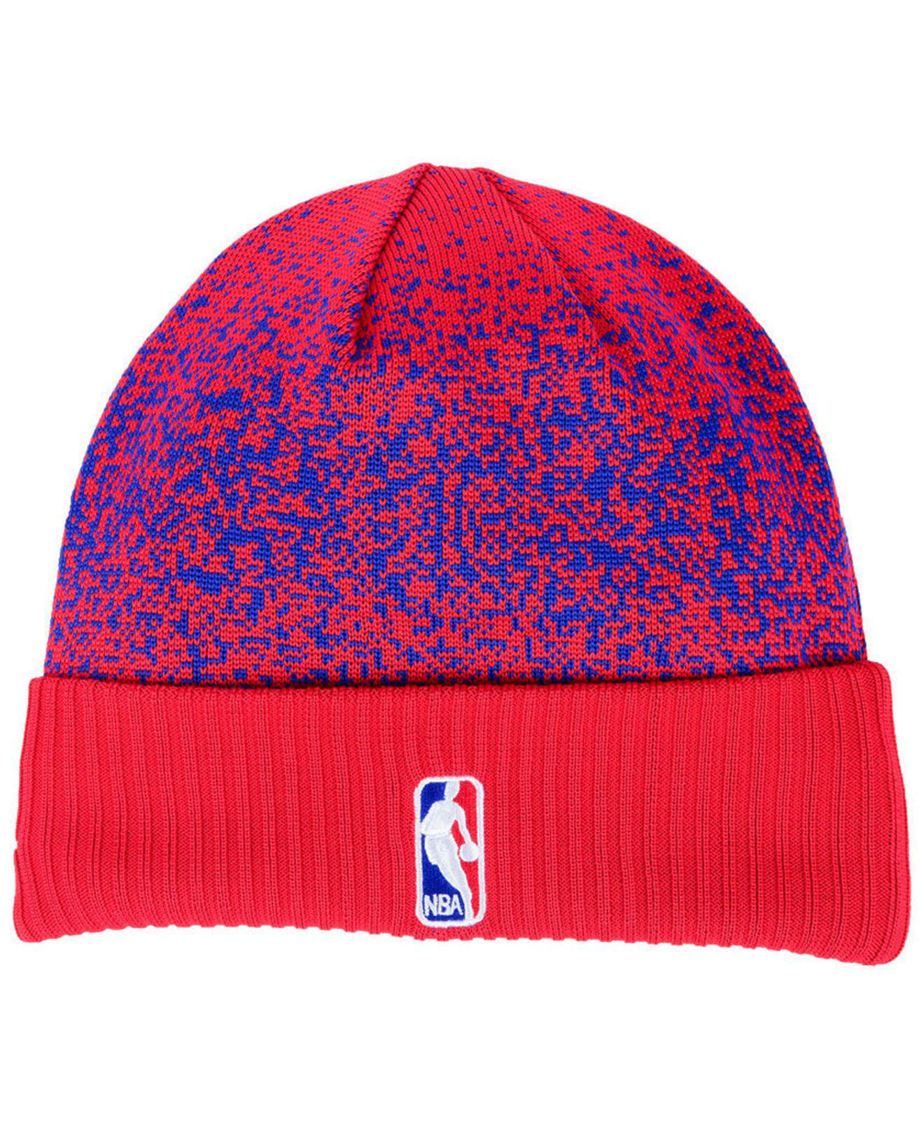 6696c2392f8264 Lyst - KTZ On Court Collection Cuff Knit Hat in Red for Men