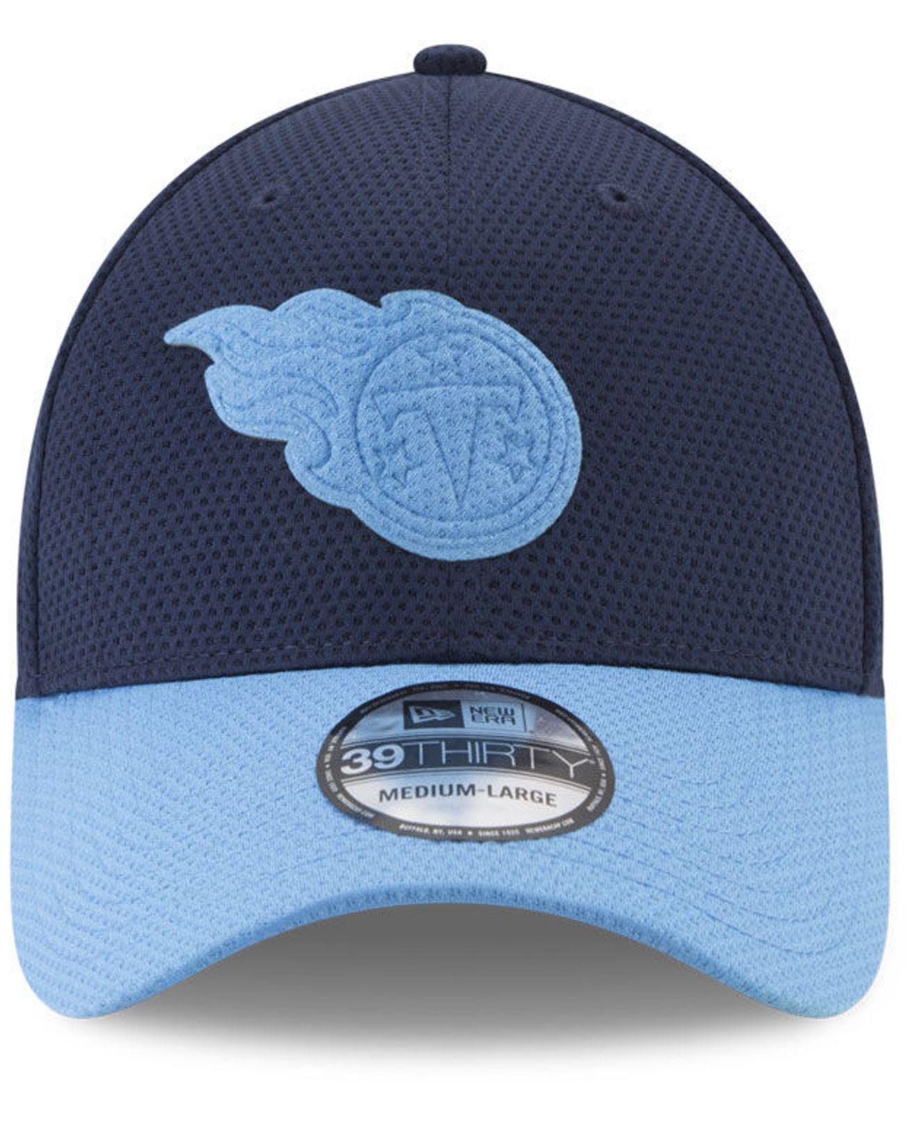 newest b0ae8 57786 australia lyst ktz tennessee titans logo surge 39thirty cap in blue for men  1f314 4f836