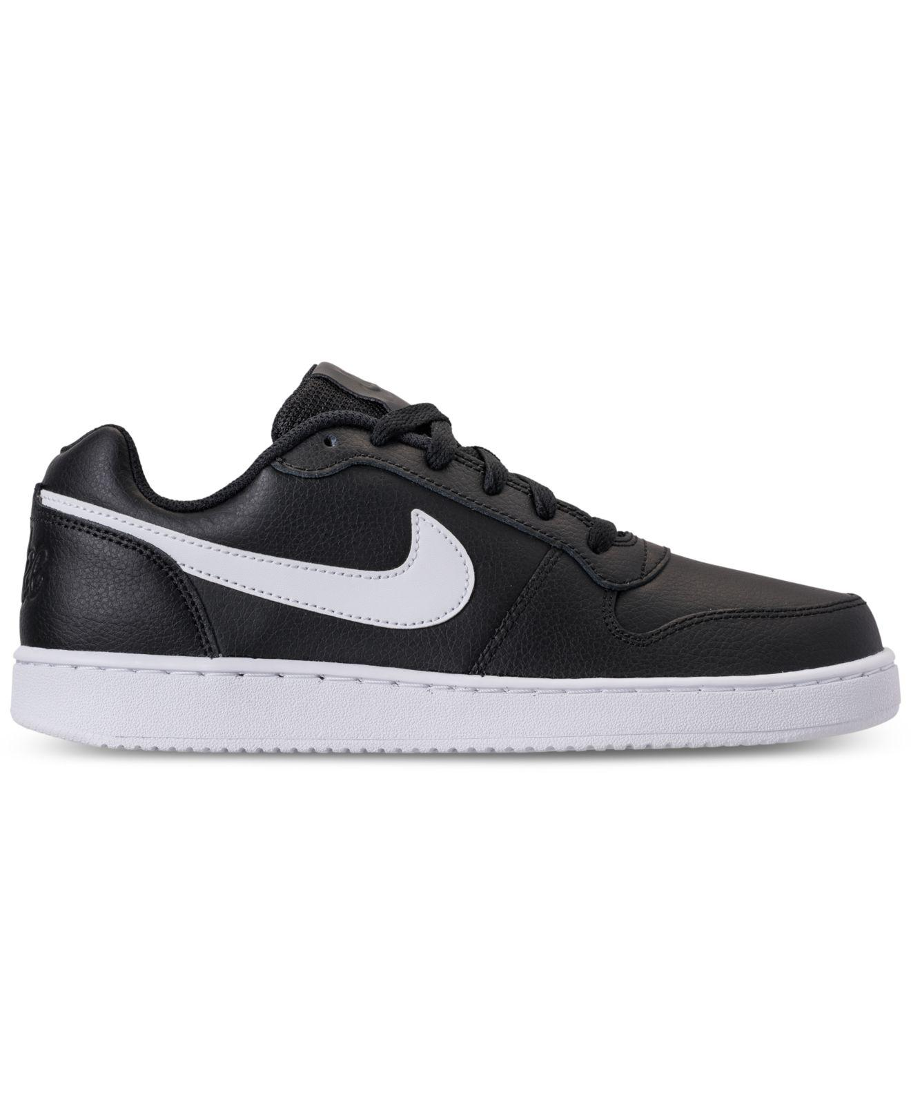 f31bb1db560 Lyst - Nike Ebernon Low Casual Sneakers From Finish Line in Black for Men