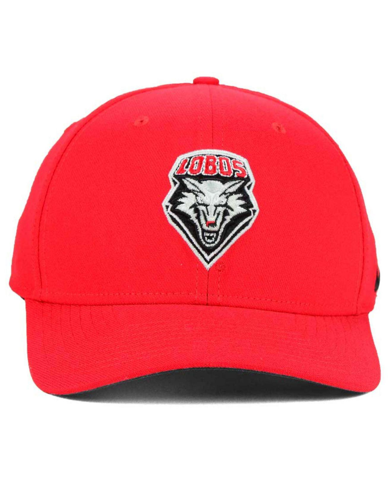 51cba765ac4 Lyst - Nike New Mexico Lobos Classic Swoosh Cap in Red for Men