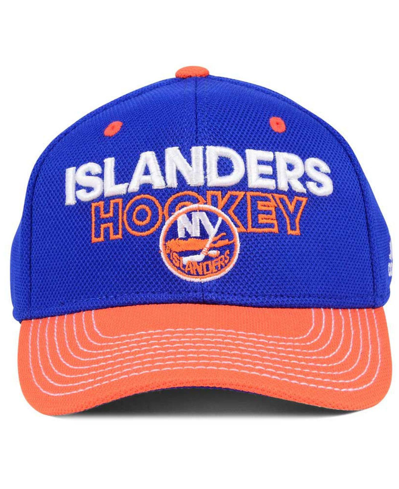 f09f7324 switzerland new york islanders adidas 2017 nhl draft structured flex cap  online outlet store d09b3 69818; clearance lyst adidas locker room structured  flex ...