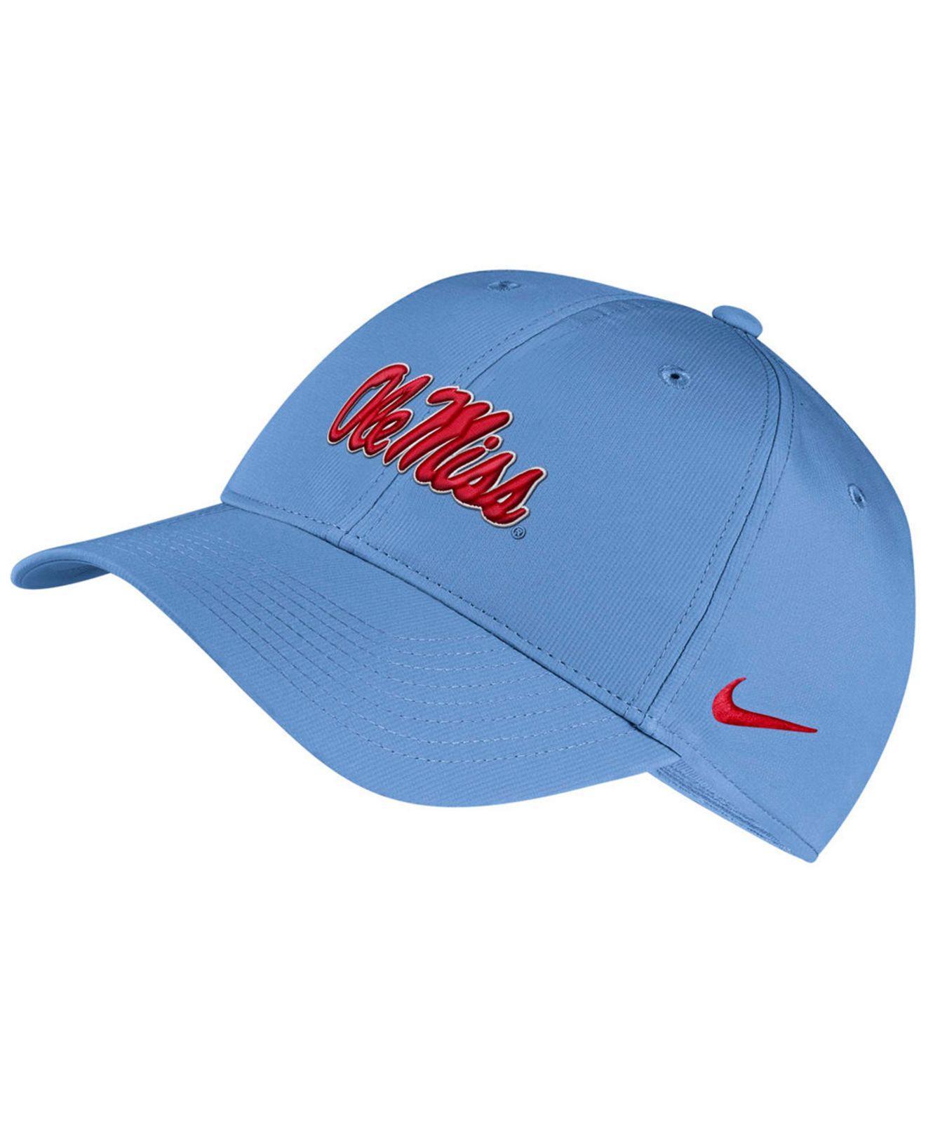 best sneakers 07809 6d597 Nike. Men s Blue Ole Miss Rebels Dri-fit Adjustable Cap