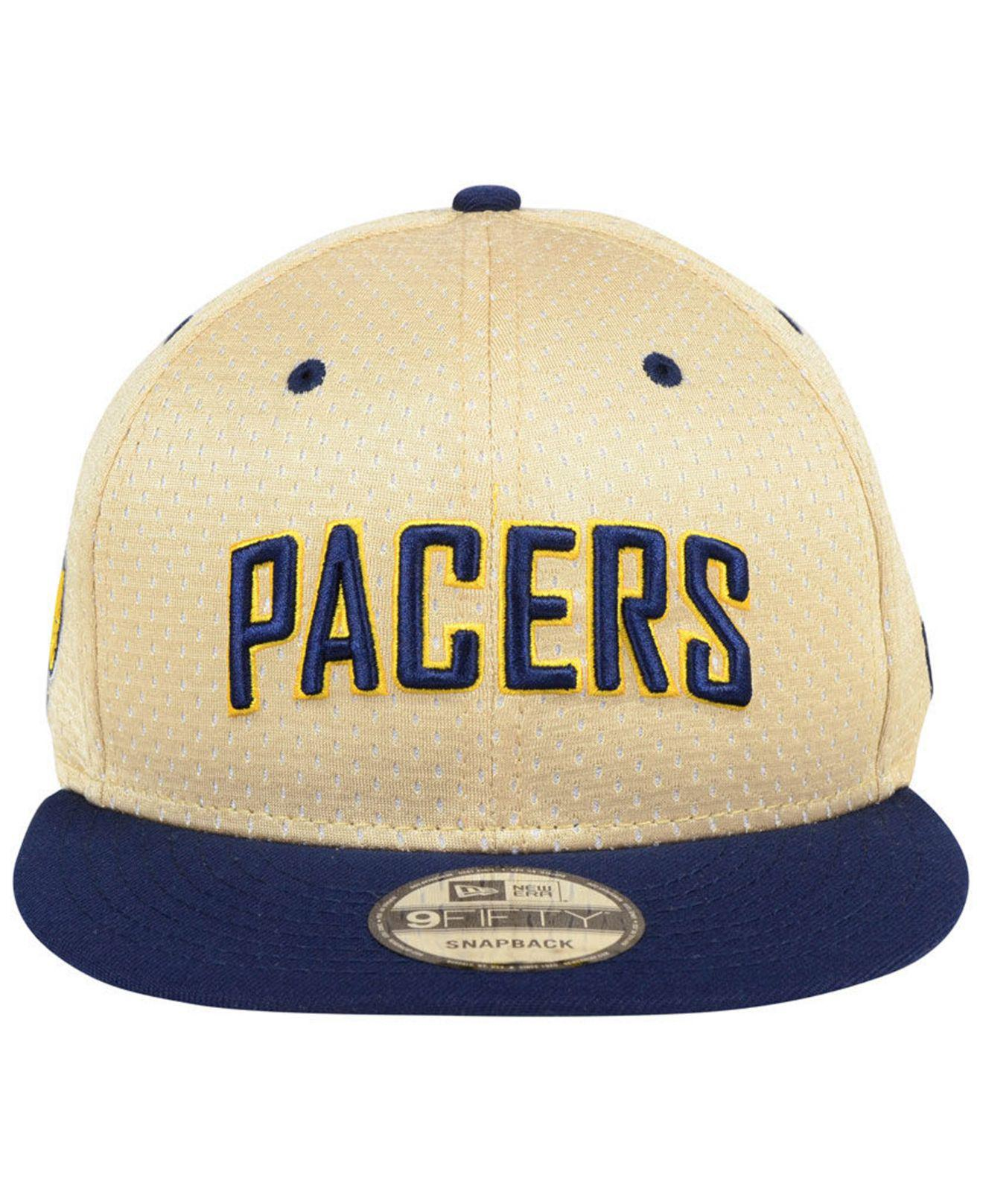 pretty nice 12298 dfa33 ... cheap lyst ktz indiana pacers champagne 9fifty snapback cap in blue for  men c558e 18a7f