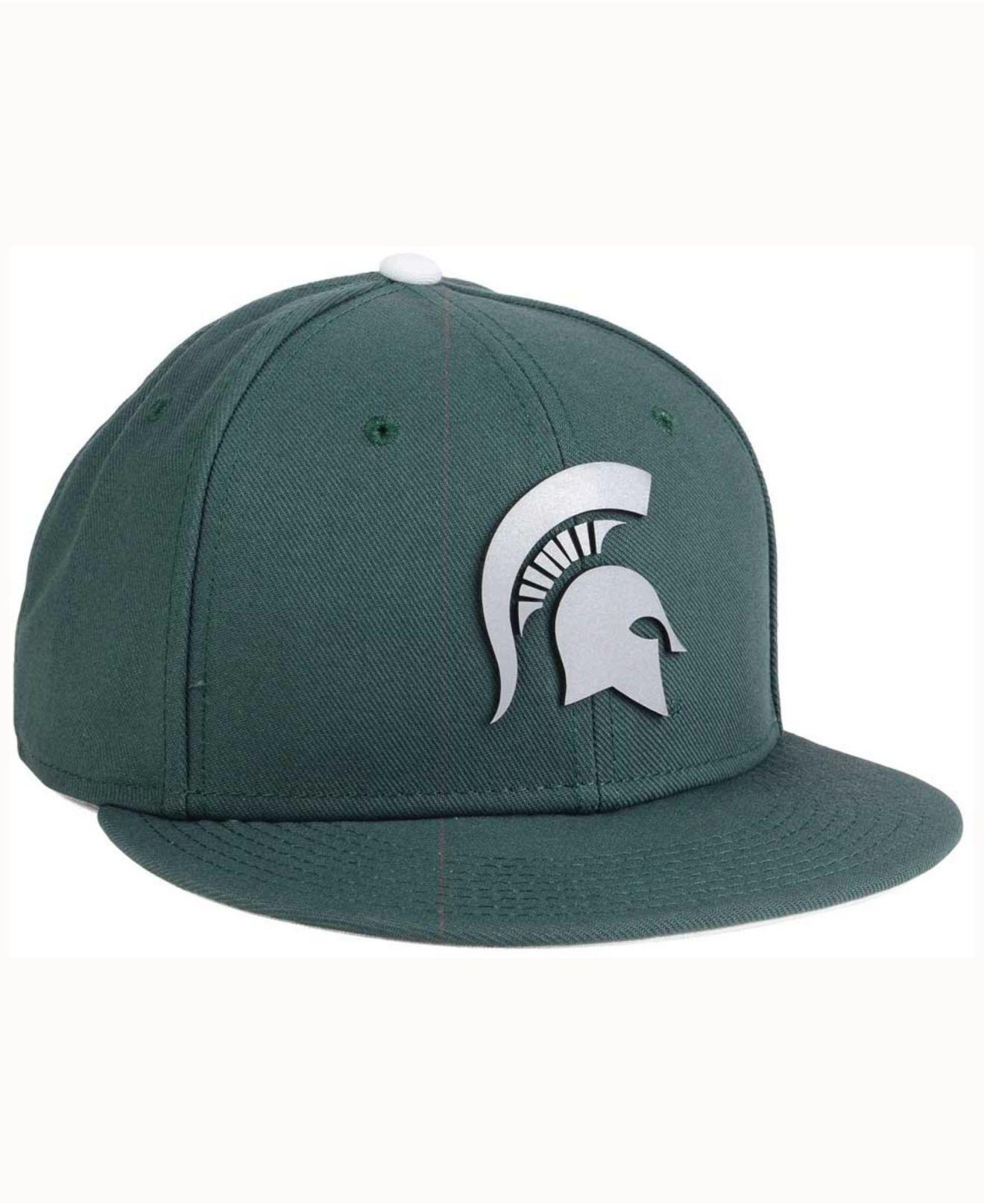 the latest f2e07 c5dba ... usa lyst nike michigan state spartans true reflective snapback cap in  ddb63 0678e