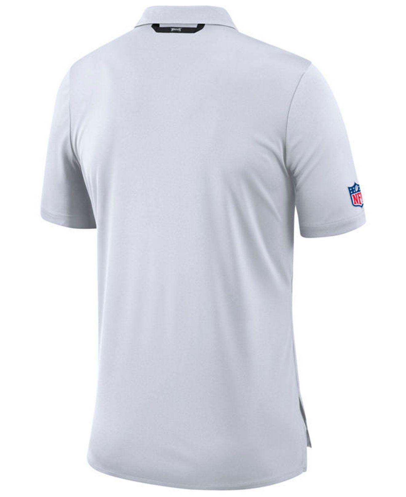 904e36735 Lyst - Nike Philadelphia Eagles Early Season Polo in White for Men