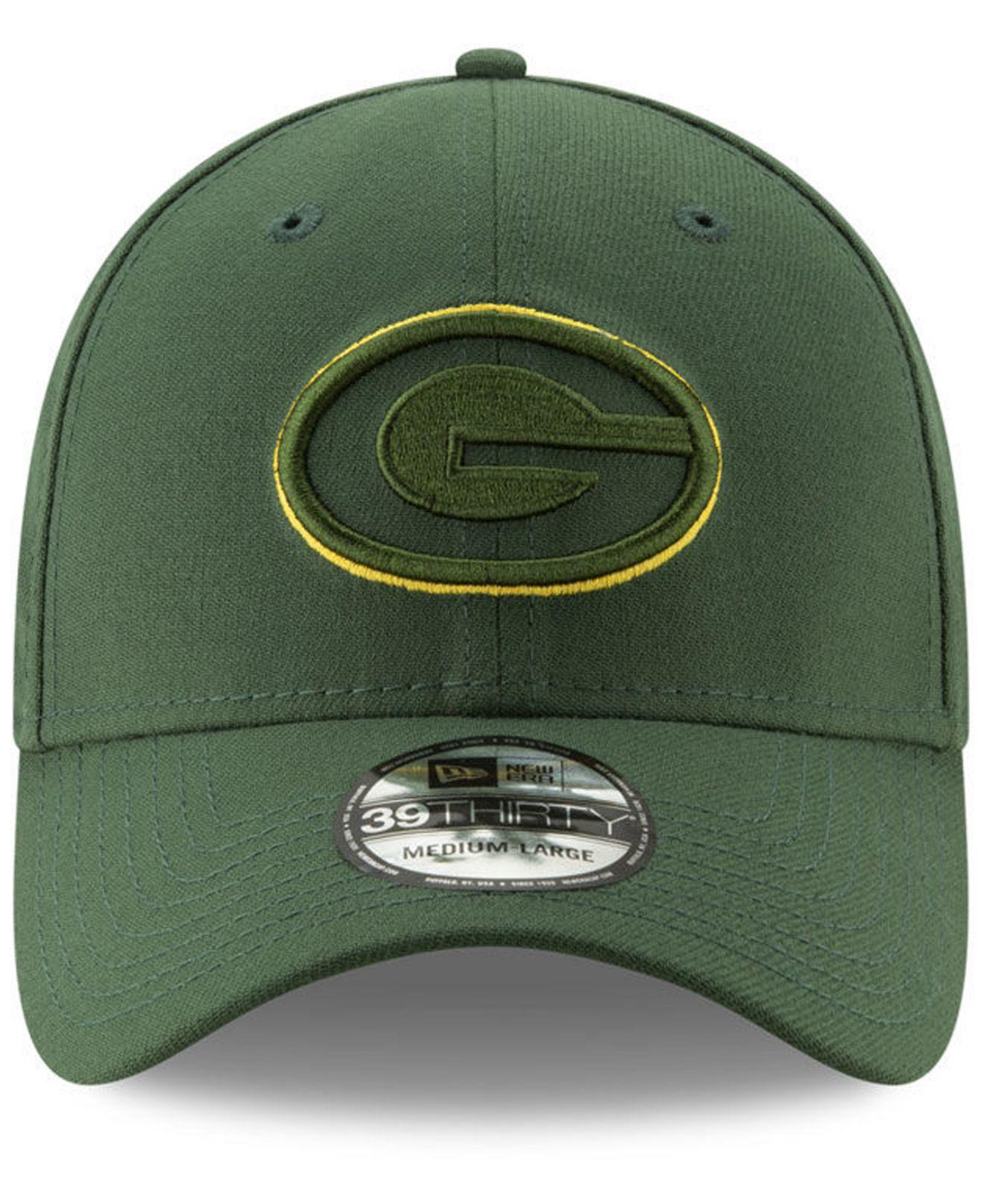 pretty nice db314 c2f75 Lyst - KTZ Green Bay Packers Logo Elements Collection 39thirty Cap in Green  for Men