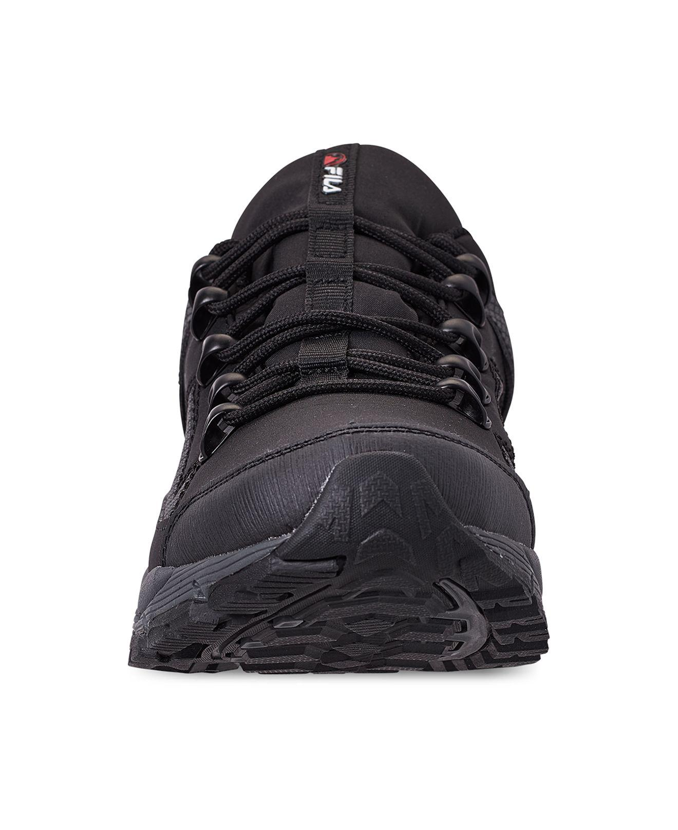 d1a5066437 Fila - Black Switchback 2 Hiking Sneakerboots From Finish Line for Men -  Lyst. View fullscreen
