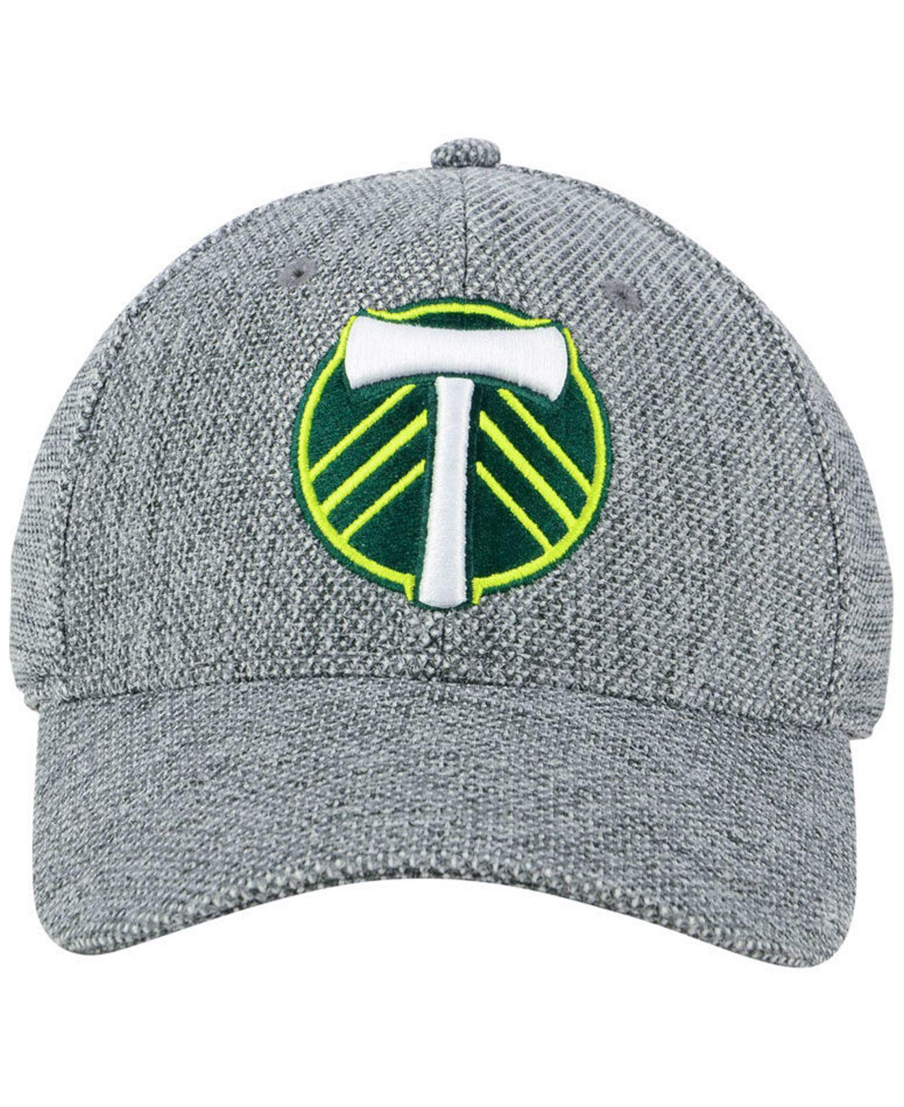 sports shoes c1df9 8a559 ... sweden lyst adidas portland timbers penalty kick flex cap in gray for  men b031c 83cc3