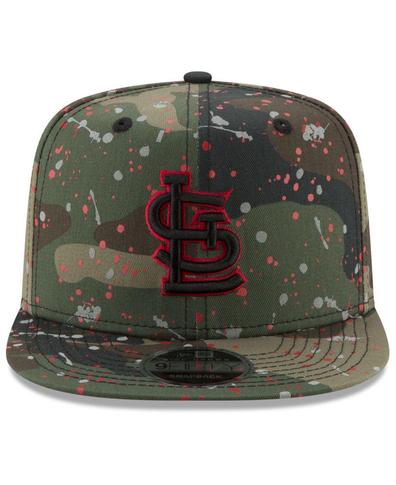 Lyst - Ktz St. Louis Cardinals Camo Spec 9fifty Snapback Cap in Green for  Men 66818110dd6d