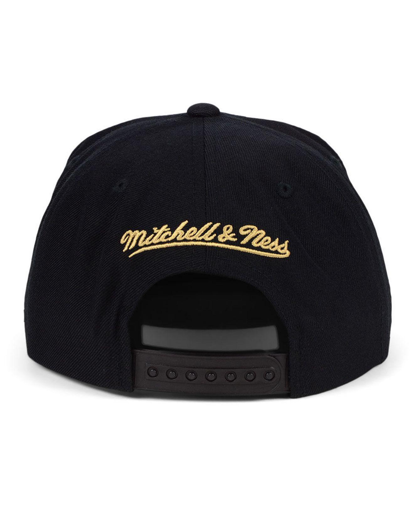 huge discount 528cd 45791 ... 50% off mitchell ness black atlanta hawks natural camo snapback cap for  men lyst.