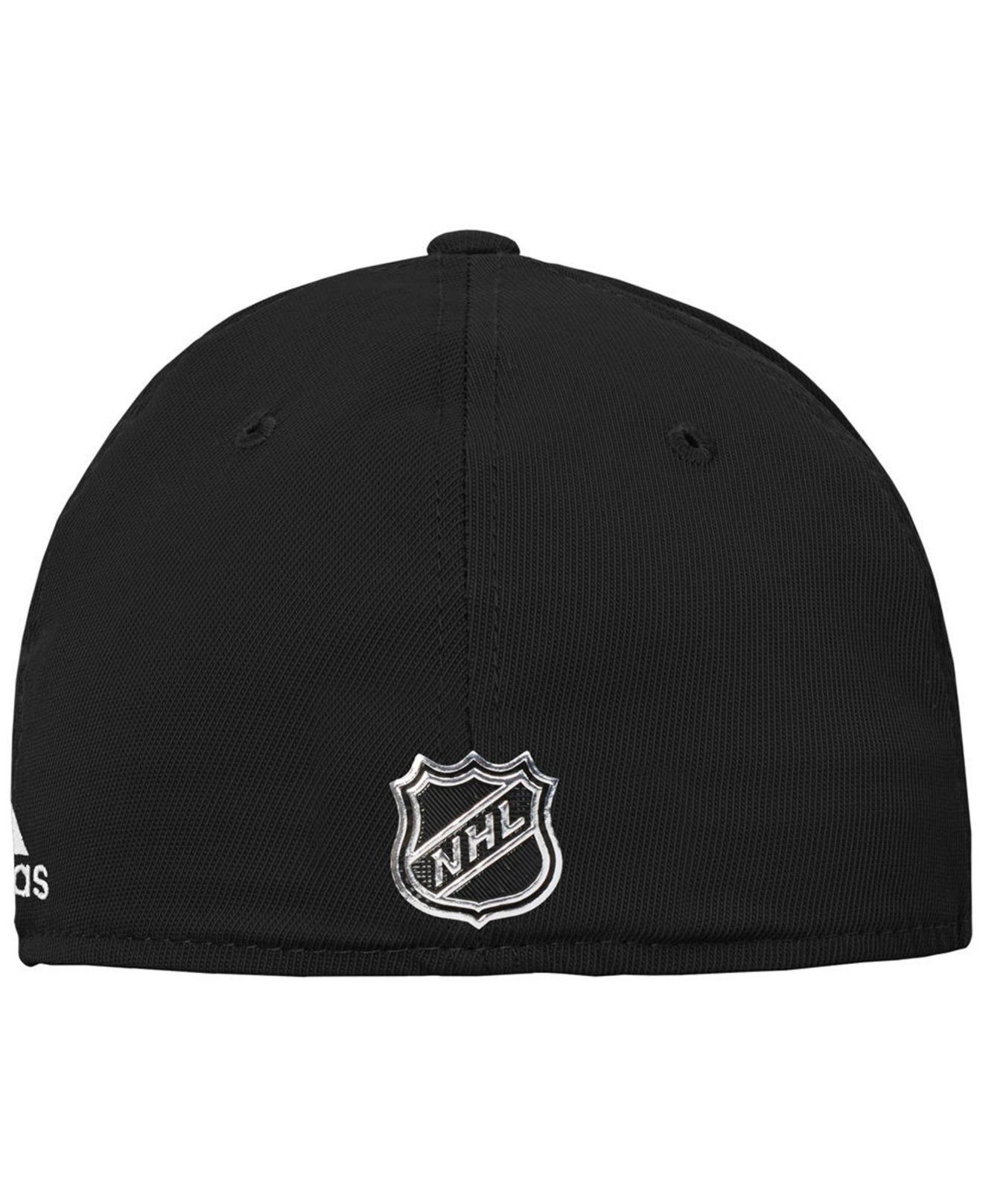 newest 70bc2 7392c ... usa lyst adidas pittsburgh penguins 2nd season flex cap in black for men  d131f 8f9bd