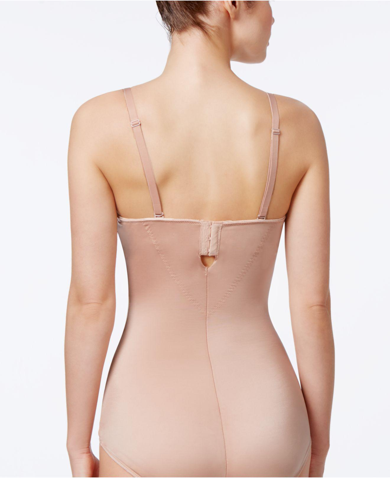 d71358a15 Lyst - Spanx Extra Firm Control Boostie-yay!® Bodysuit 1908 in Natural