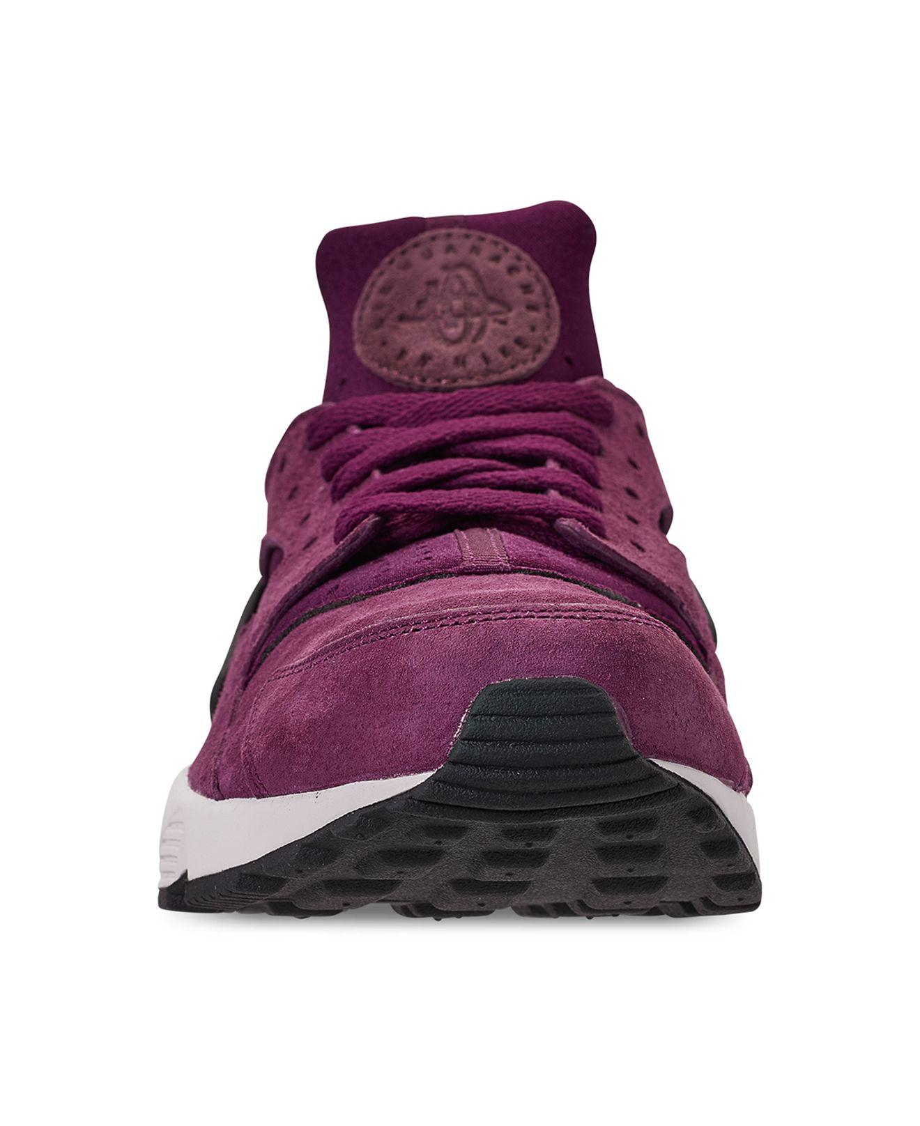 9b2b9406eda84 Nike - Purple Air Huarache Run Premium Running Sneakers From Finish Line  for Men - Lyst. View fullscreen