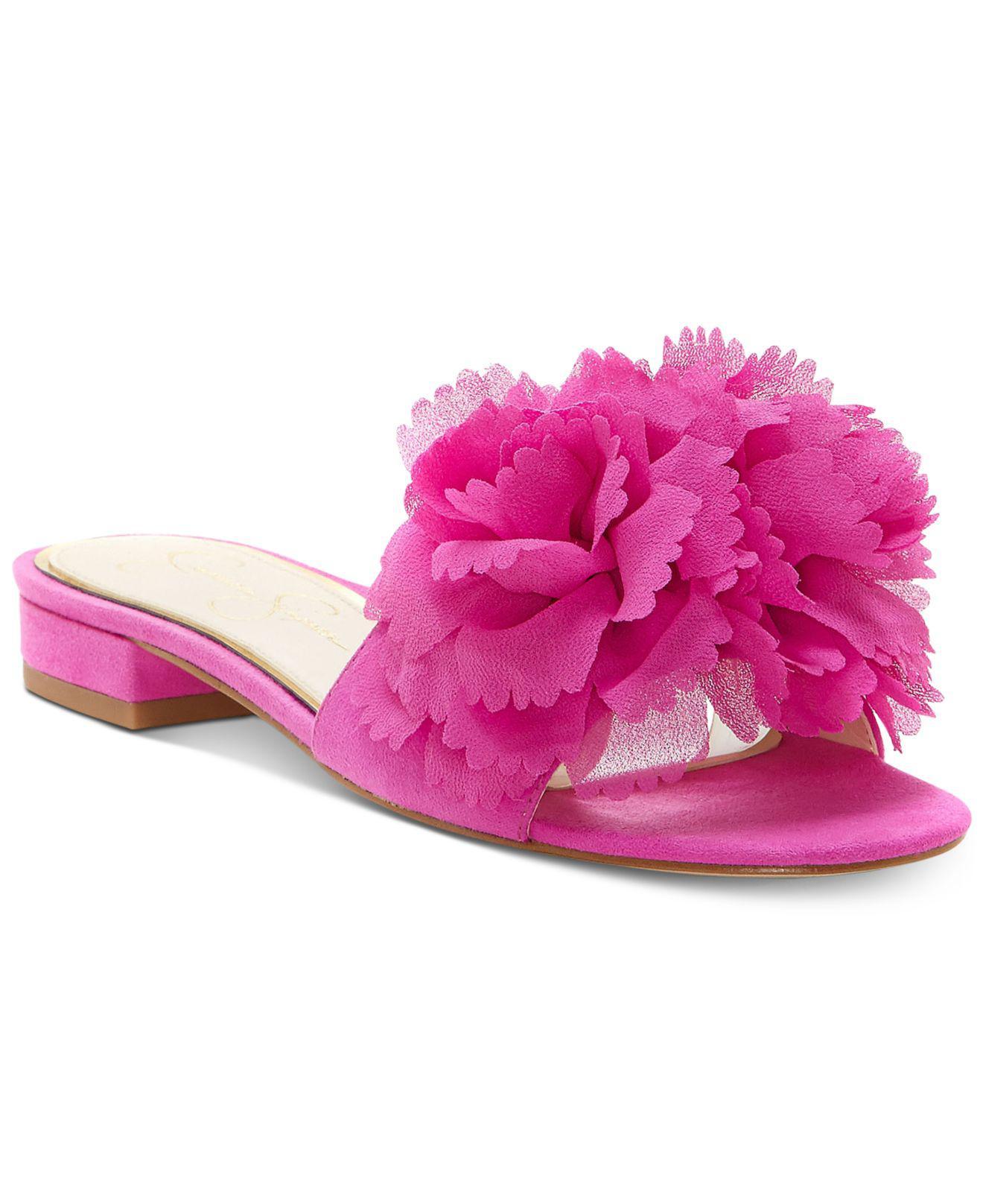 Jessica SimpsonCARALIN - Mules - hot shot pink Idl3veSy5n