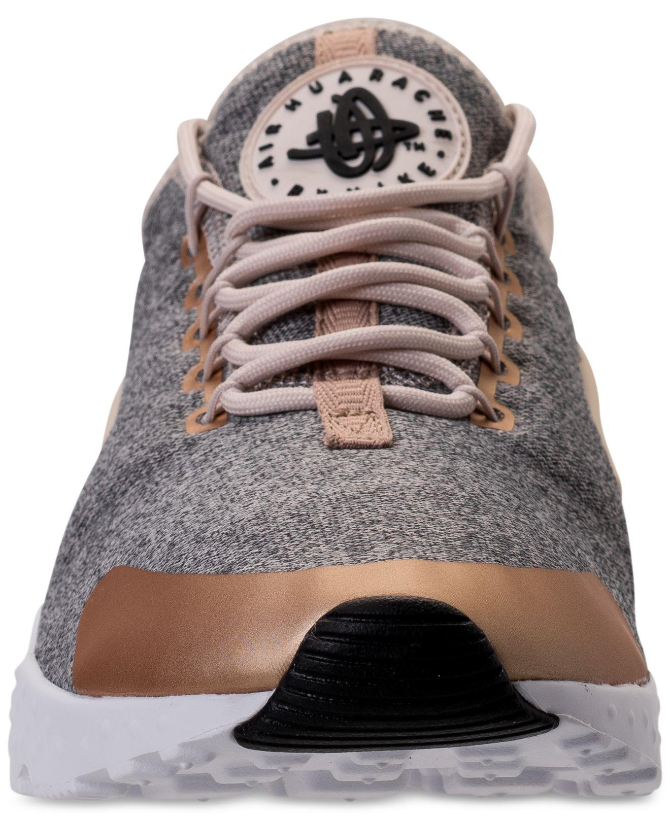 1bcab63c47021 Lyst - Nike Women s Air Huarache Run Ultra Se Running Sneakers From ...