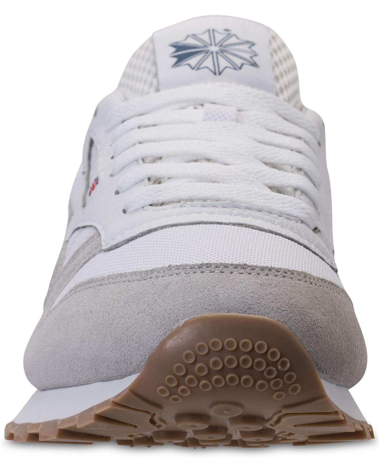 fd9d67655513 Lyst - Reebok Men s Classic Leather Estl Casual Sneakers From Finish ...