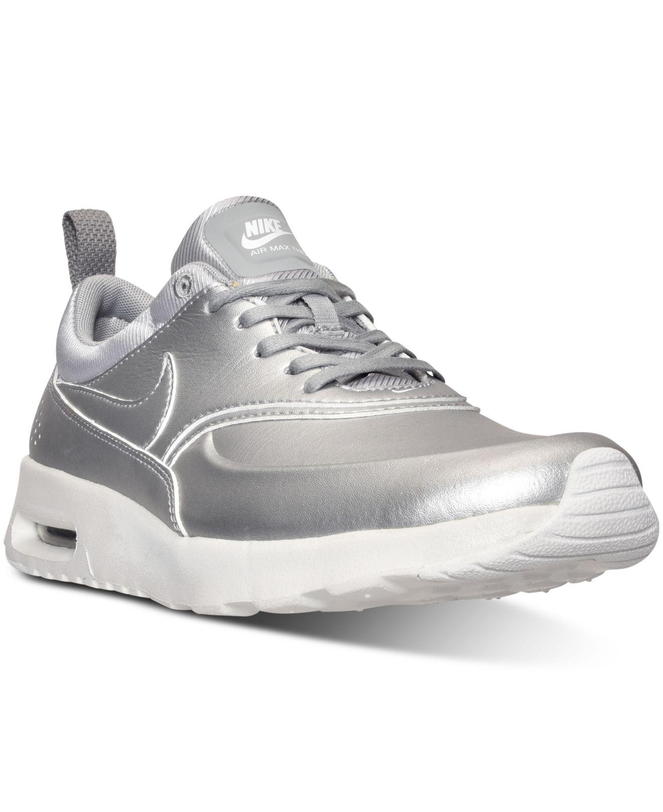 99e076fb7b ... spain nike. womens metallic air max thea se running sneakers from  finish line e397f 716c3