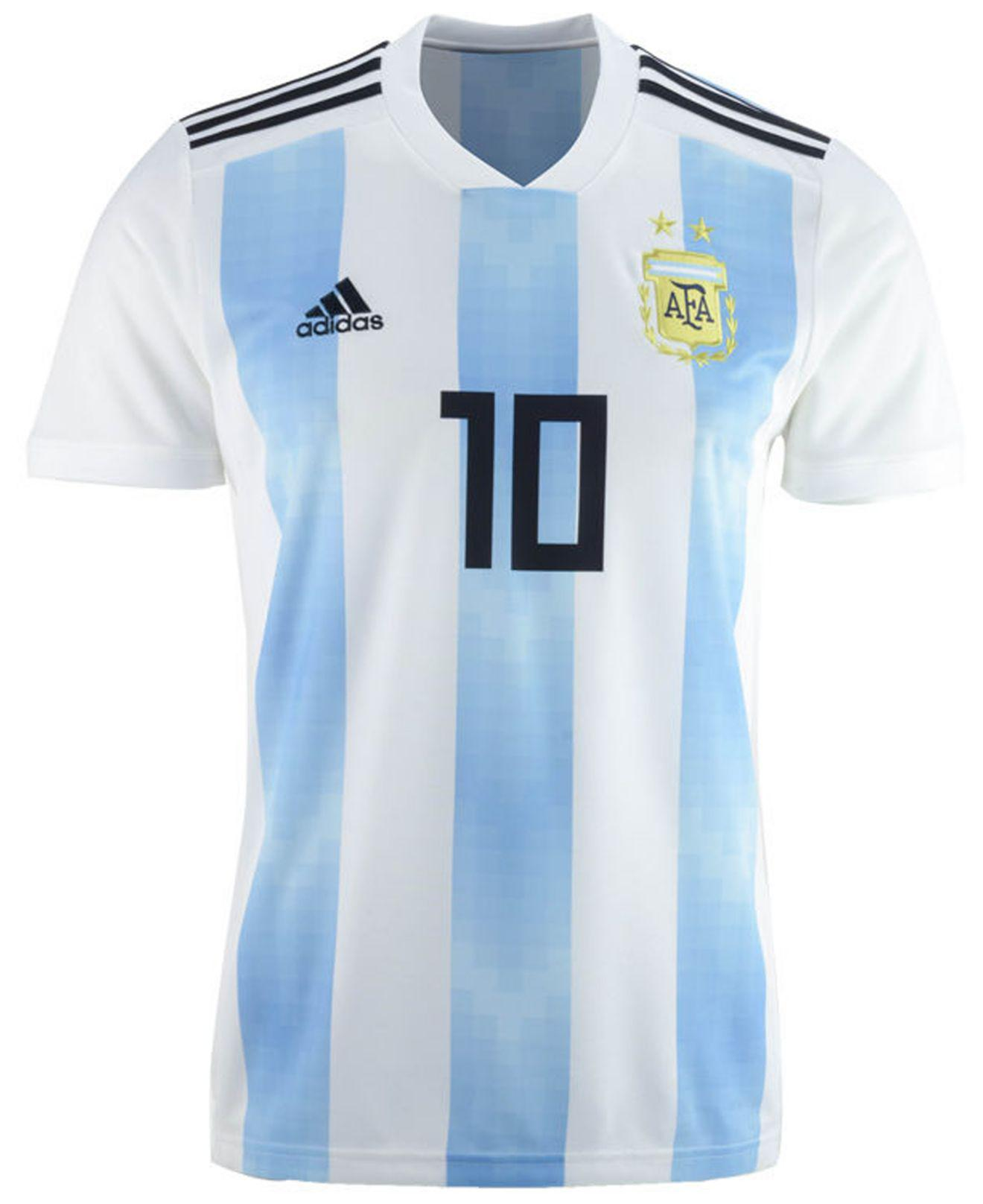 e247b9102 adidas Lionel Messi Argentina National Team Home Stadium Jersey in Blue for  Men - Save 50% - Lyst