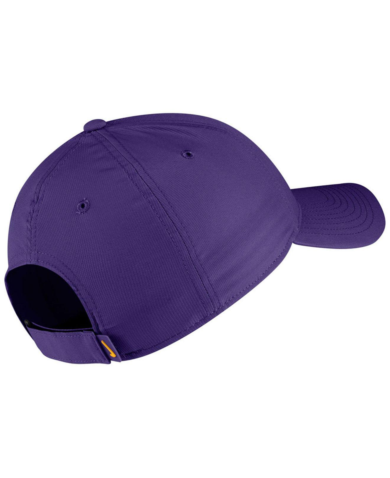 00277e72bcbdd Lyst - Nike Lsu Tigers Dri-fit Adjustable Cap in Purple for Men