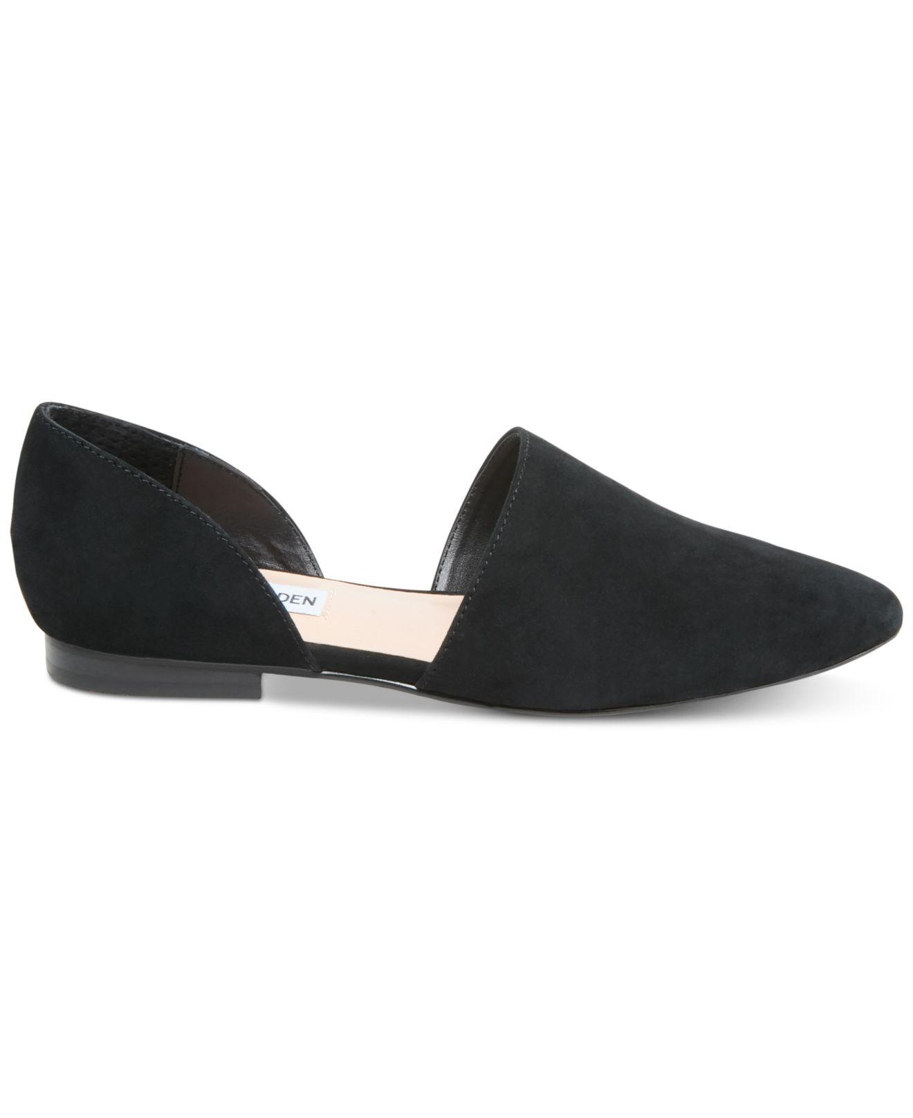 e674f3ca8b4 Lyst - Steve Madden Talent Two-piece Flats in Black