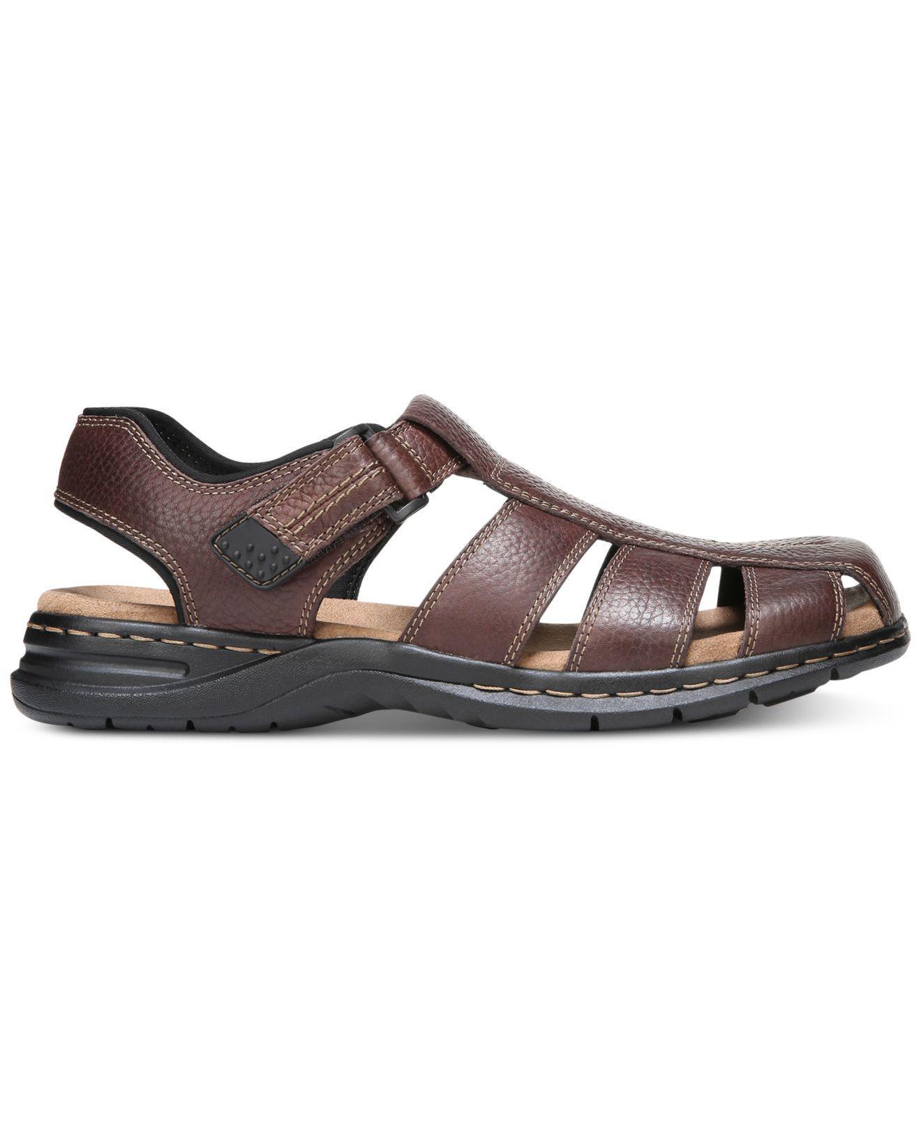 65564dad8584 Lyst - Dr. Scholls Gaston Leather Sandals for Men