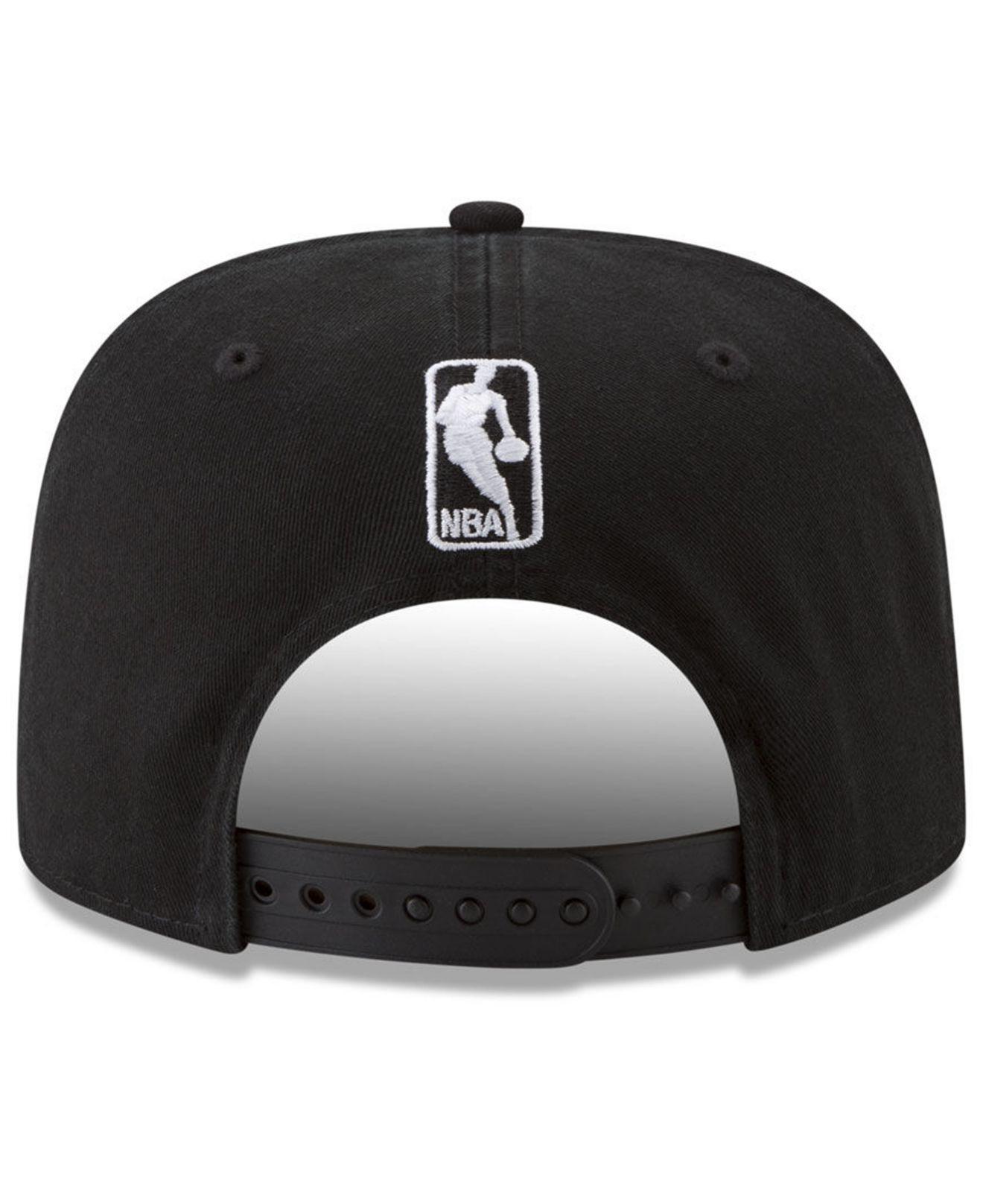 factory authentic c6c86 b4ef0 Lyst - KTZ New York Knicks 90s Throwback Roadie 9fifty Snapback Cap ...