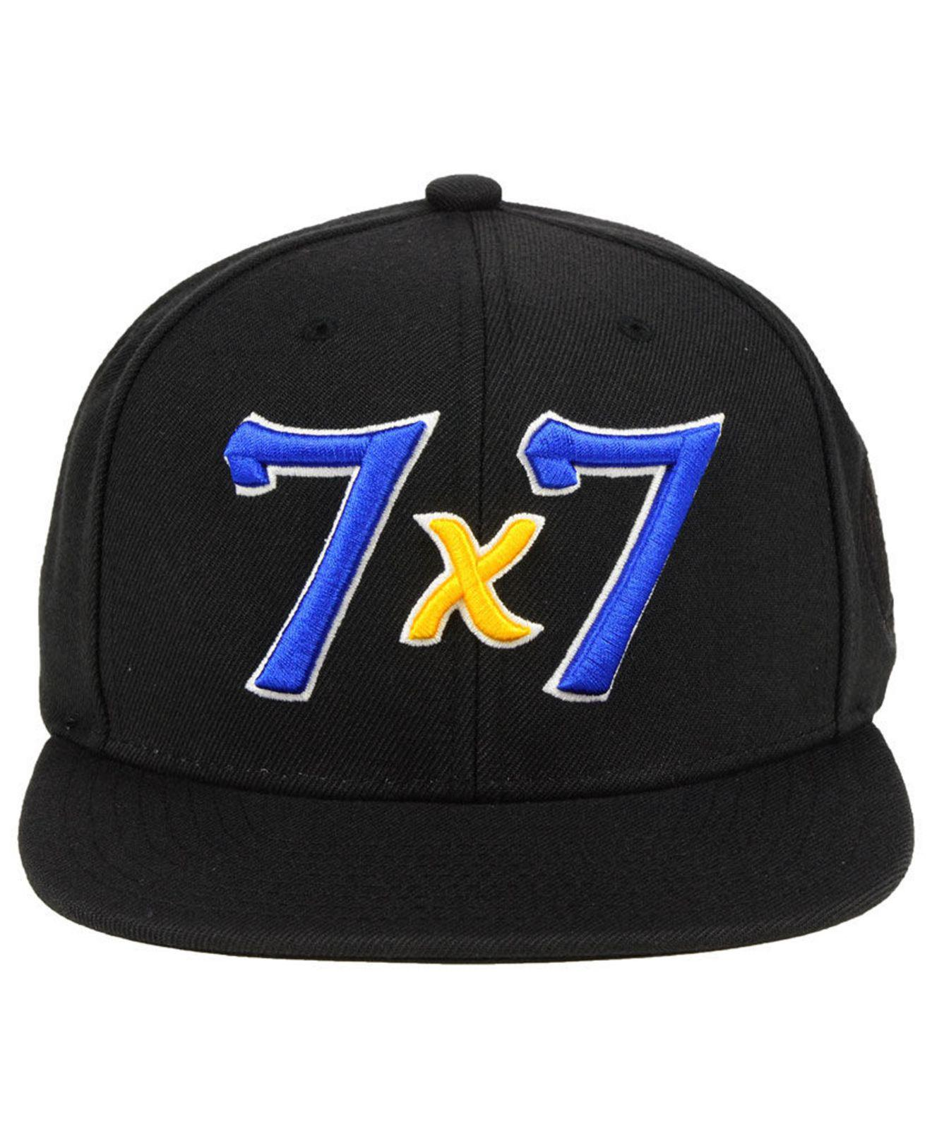 c46988be511 Lyst - Mitchell   Ness Golden State Warriors Town Snapback Cap in Black for  Men