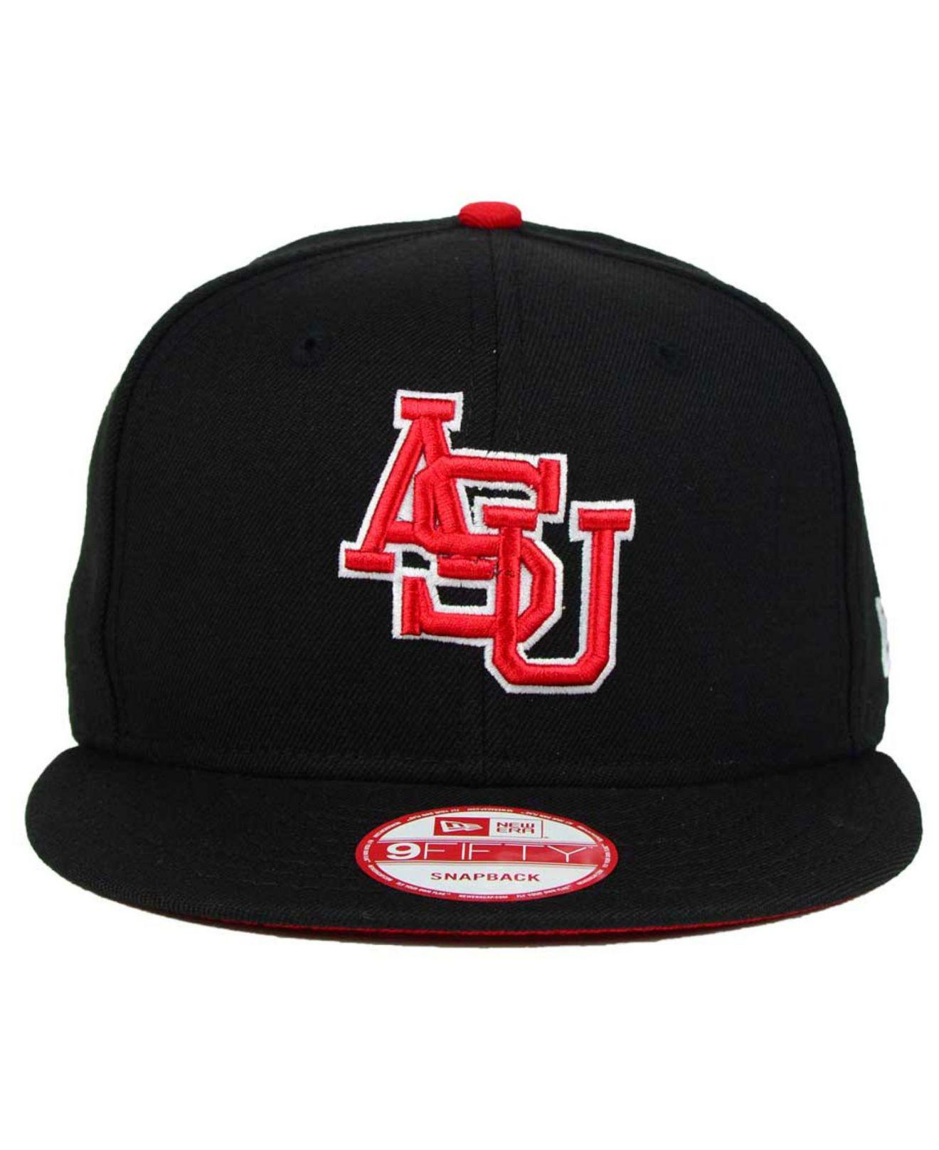 save off 6bee8 2b248 Lyst - KTZ Arkansas State Red Wolves Core 9fifty Snapback Cap in Black for  Men