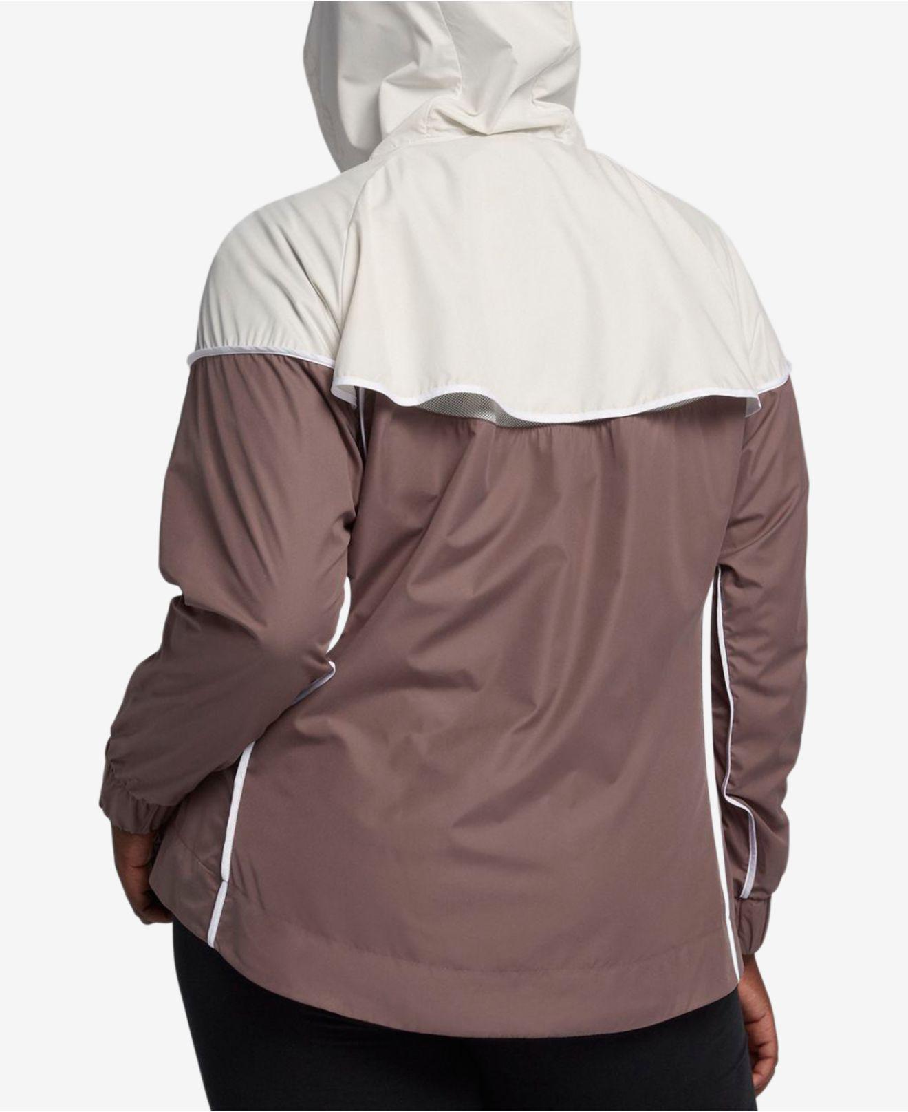Lyst - Nike Plus Size Sportswear Windrunner Jacket 1624b1b35