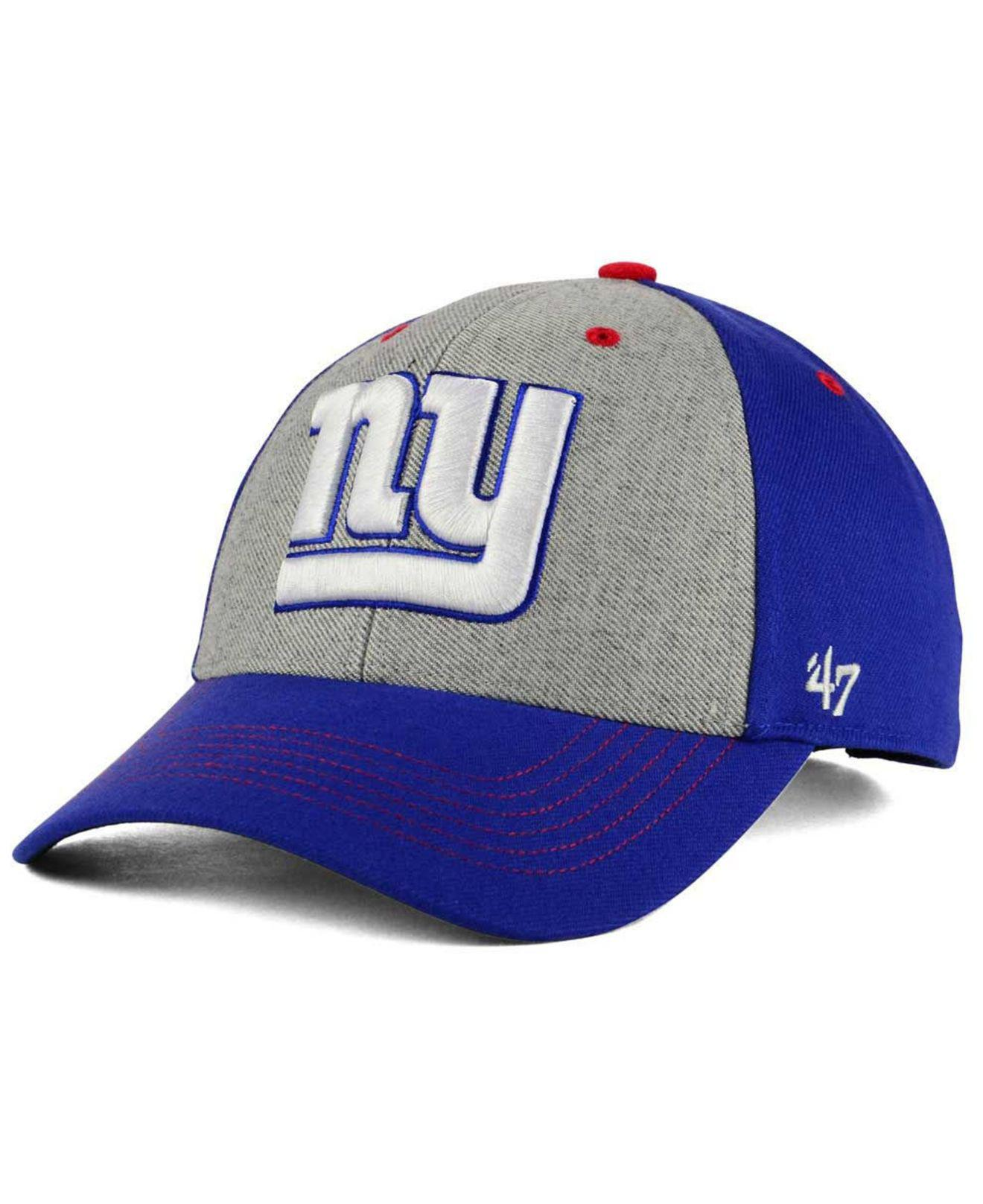 on sale b7333 52931 Lyst - 47 Brand New York Giants Formation Mvp Cap in Blue for Men