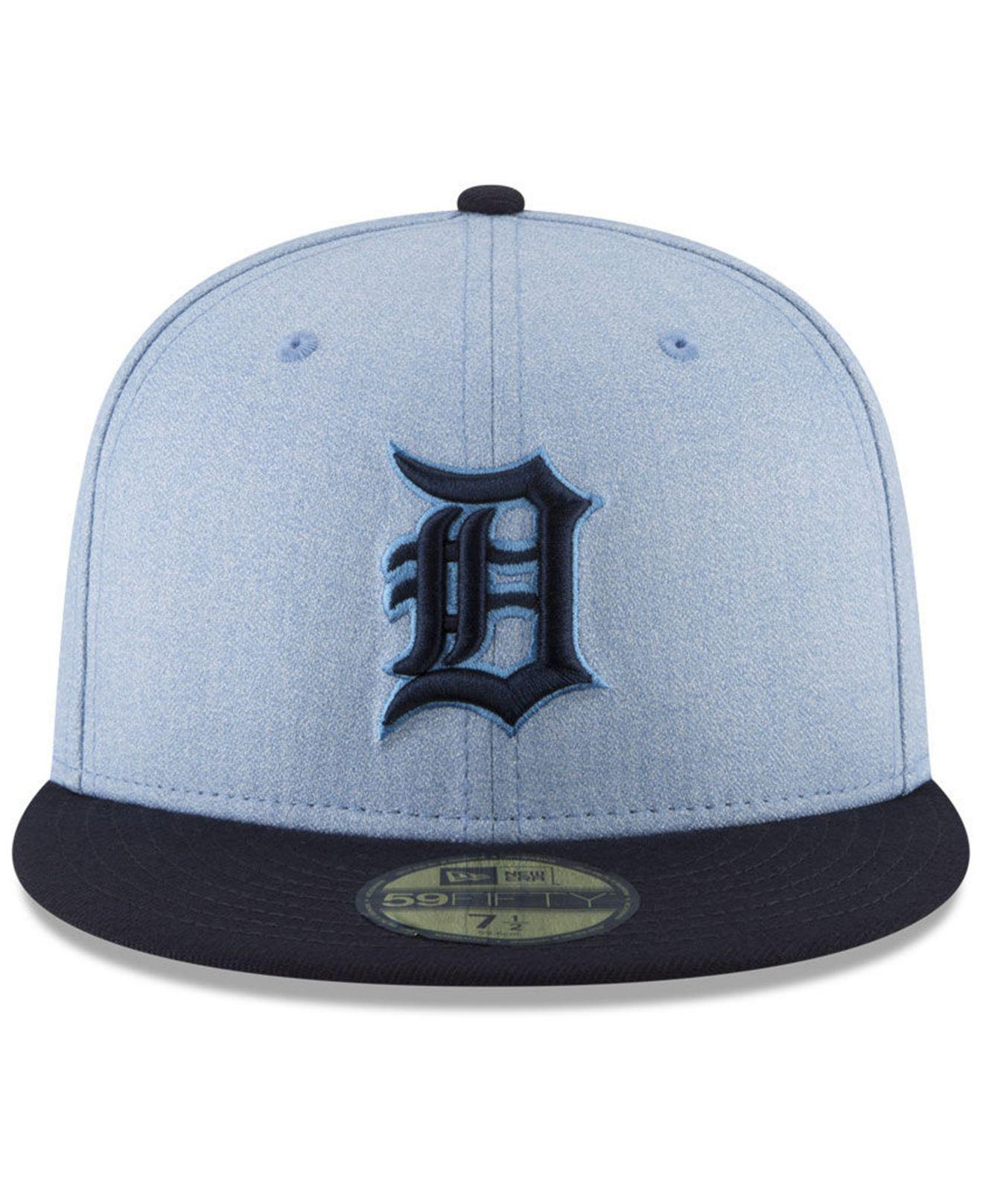 Lyst - Ktz Detroit Tigers Father s Day 59fifty Fitted Cap 2018 in Blue for  Men 8296a8da5b28