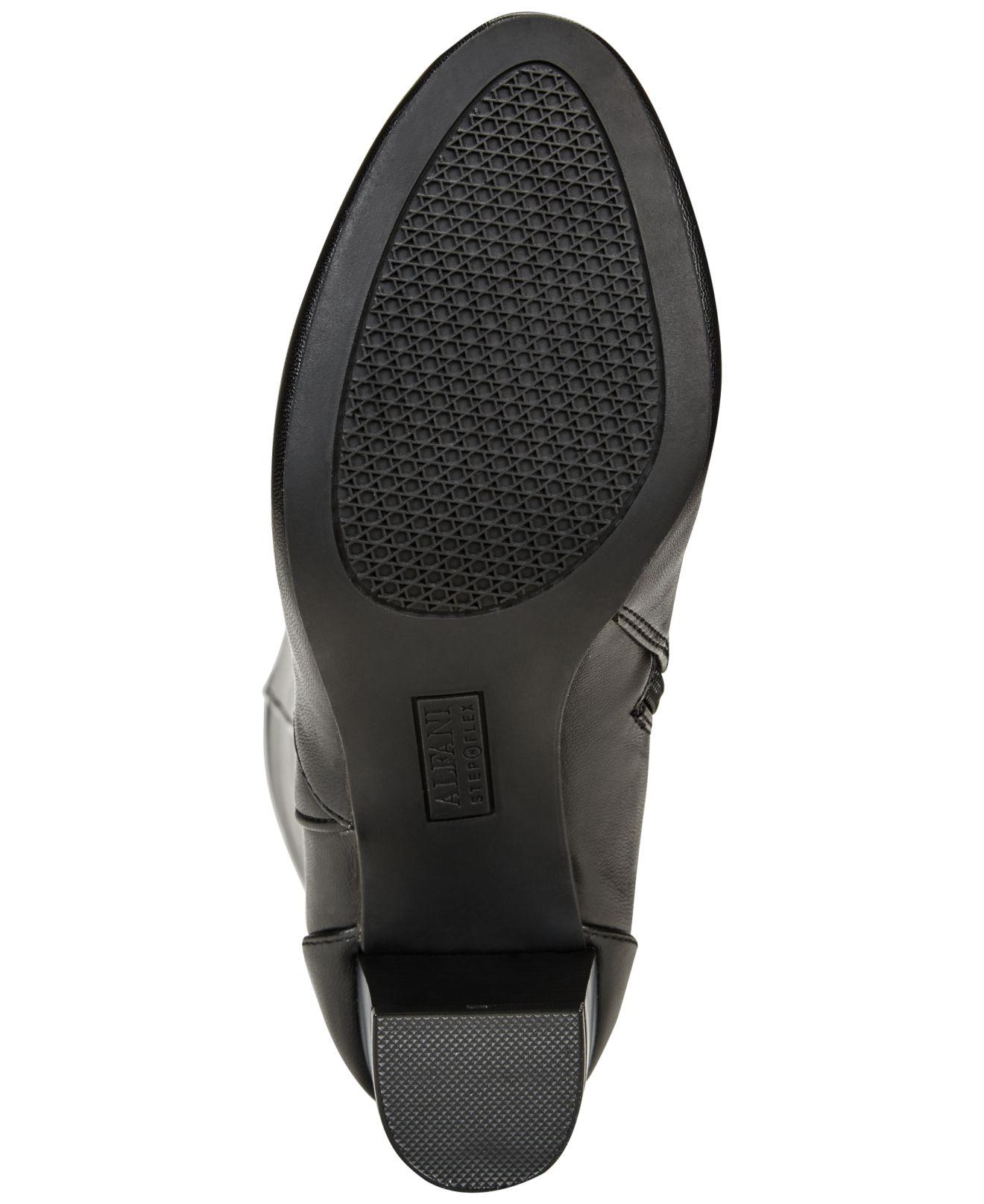 bfa10db01a0 Lyst - Alfani Giliann Wide-calf Dress Boots in Black