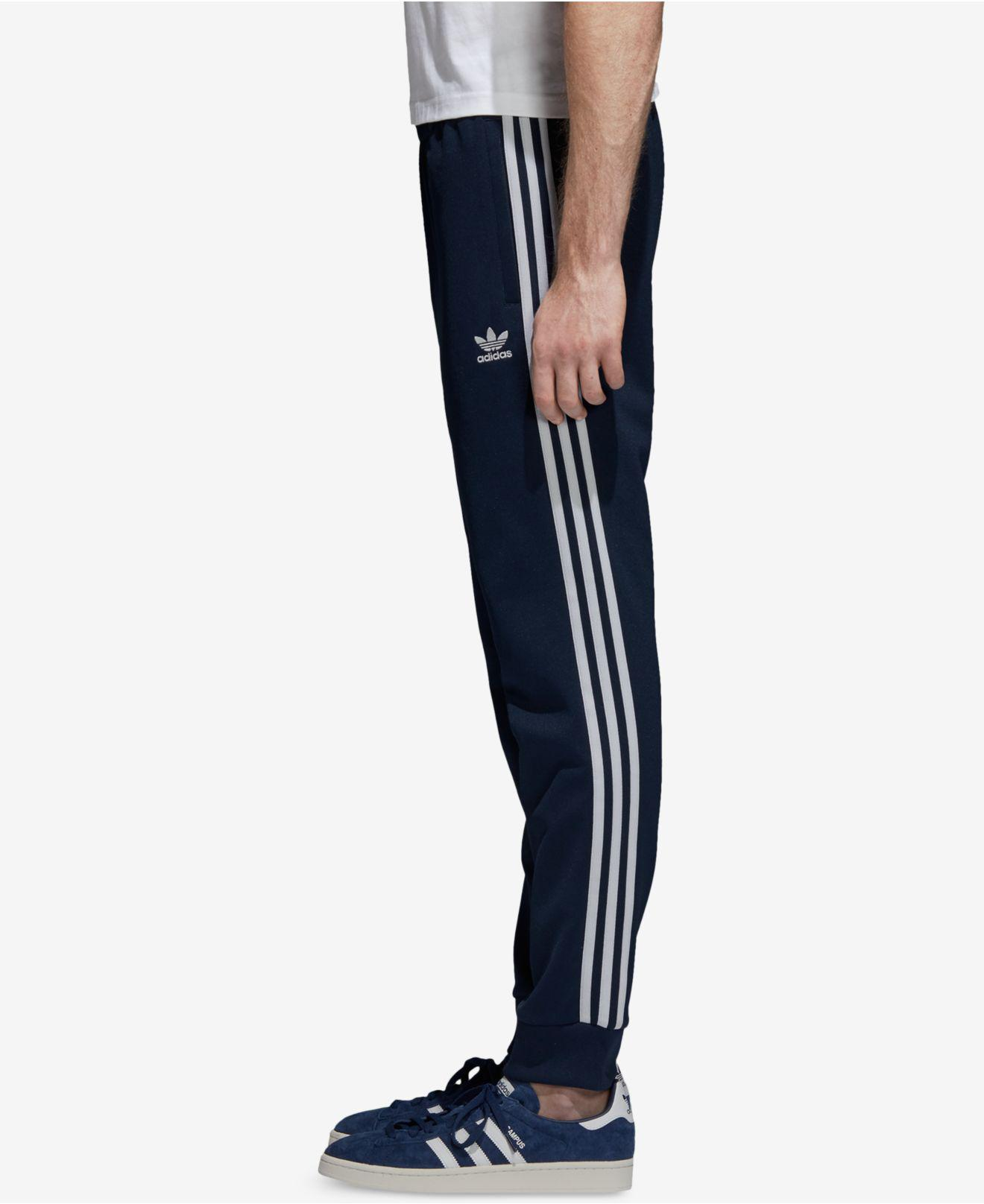 Lyst adidas Originals Adicolor Track Pants in Blue for Men