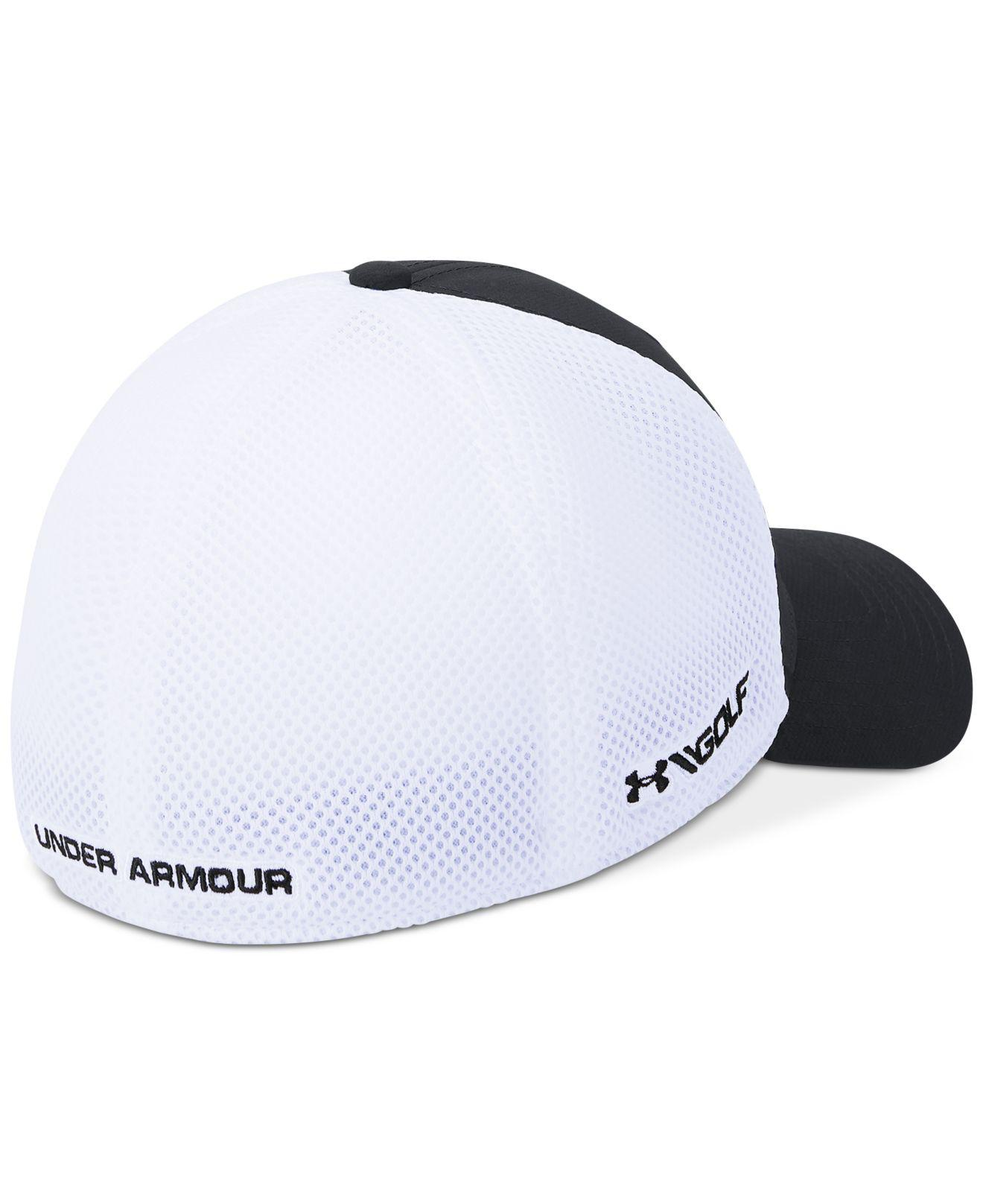 284326a4e23 Lyst - Under Armour Classic Colorblocked Mesh Fitted Hat for Men