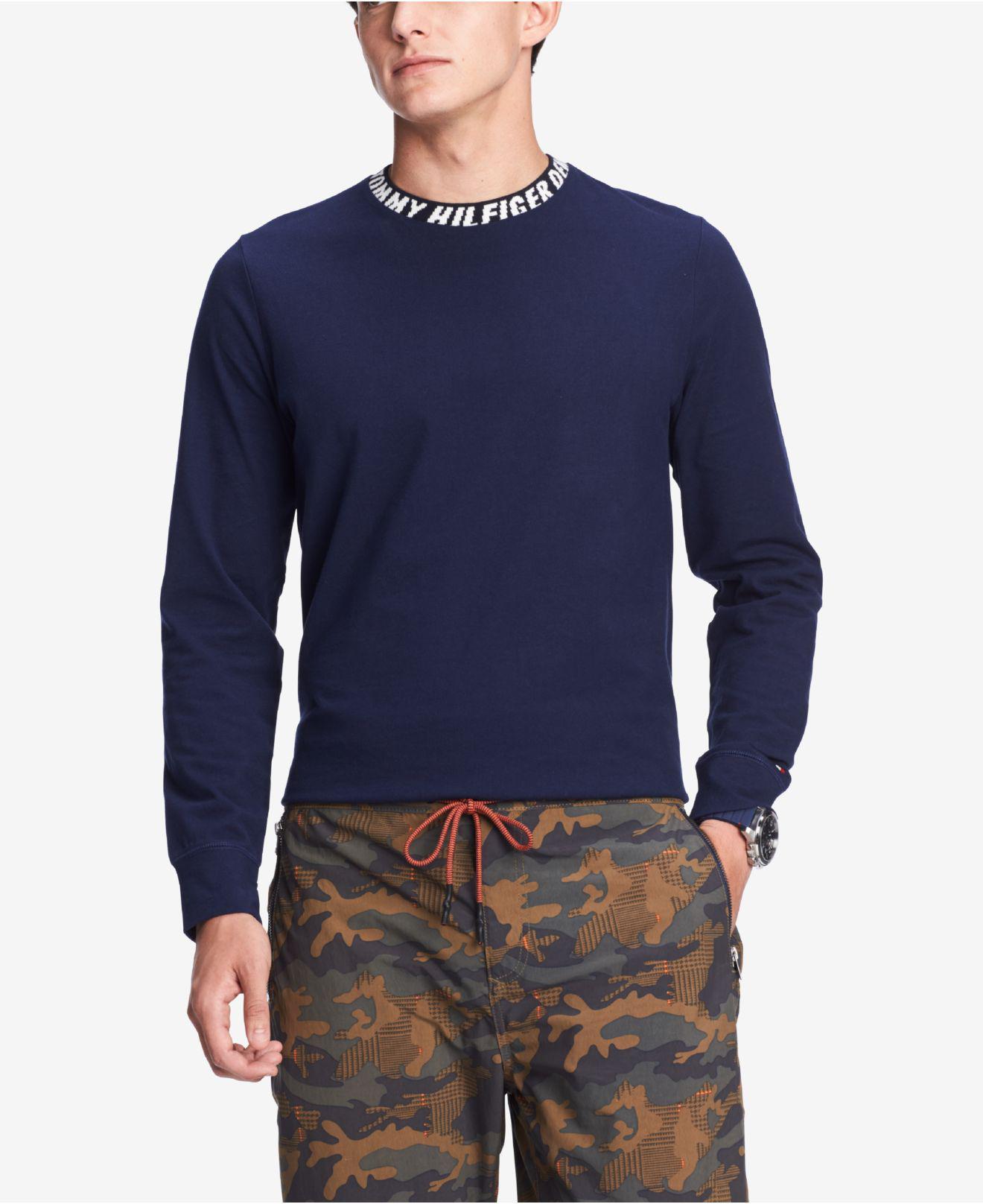 5df777ab0b05a4 Tommy Hilfiger. Men s Blue Theo Shirt