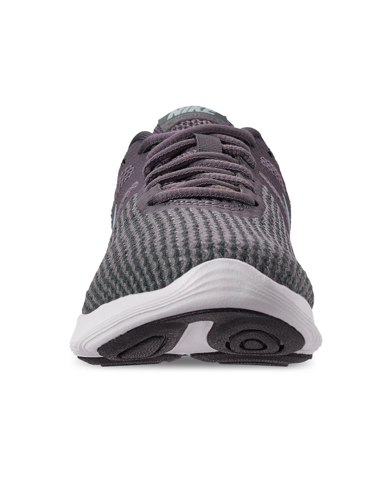 7f7b0ee15aa2 Nike - Multicolor Revolution 4 Wide Width Running Sneakers From Finish Line  - Lyst. View fullscreen