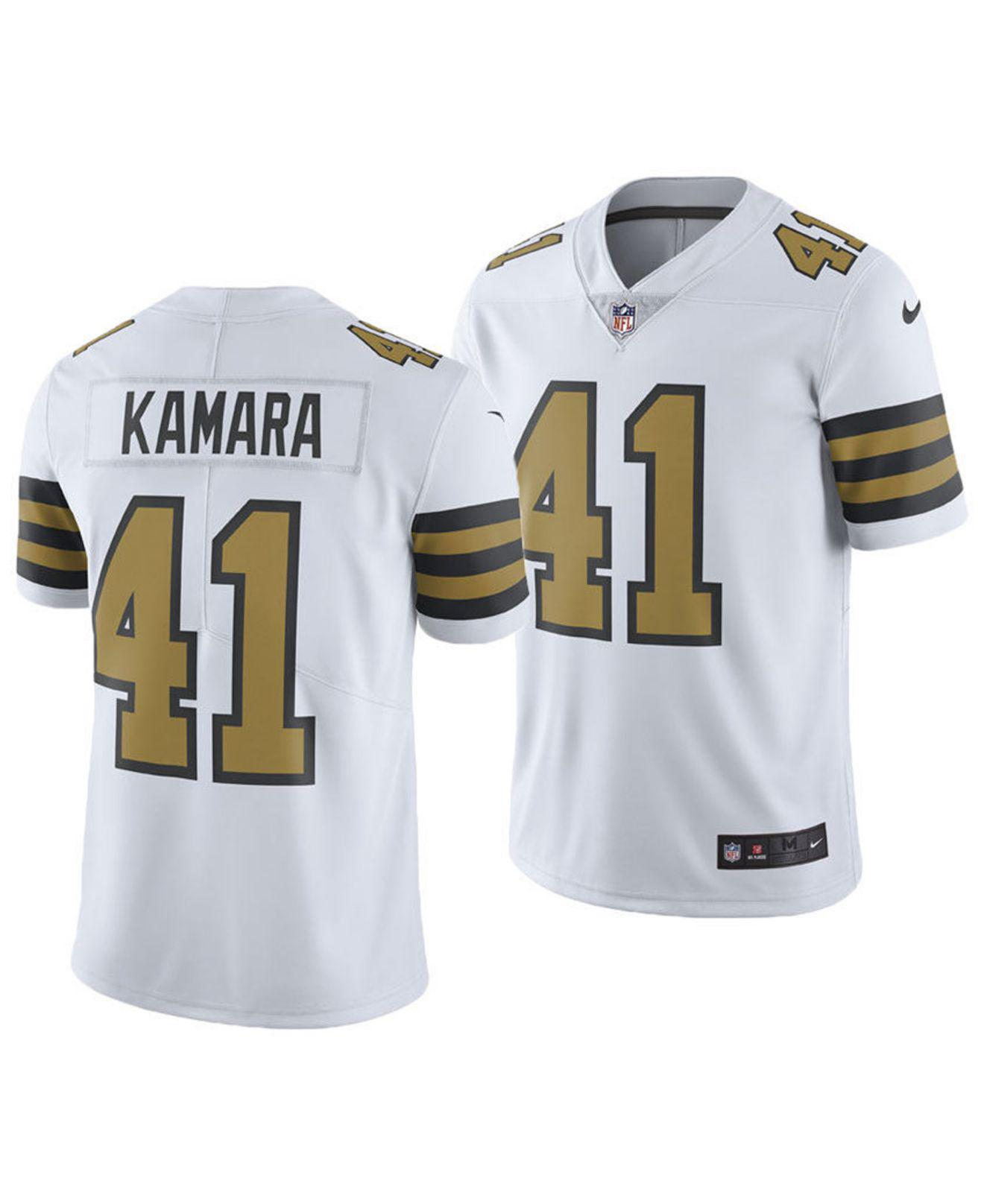 138d1c7c0aa Nike - White Alvin Kamara New Orleans Saints Limited Color Rush Jersey for  Men - Lyst. View fullscreen