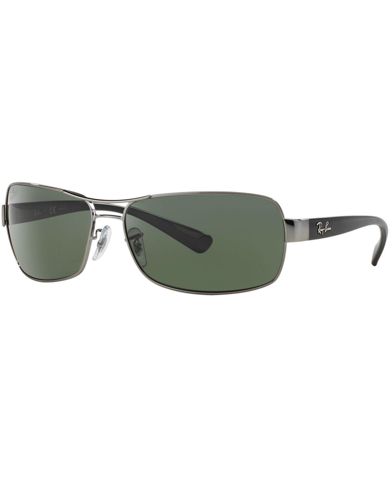 eb7c38ae68 Ray-Ban. Men s Metallic Sunglasses ...