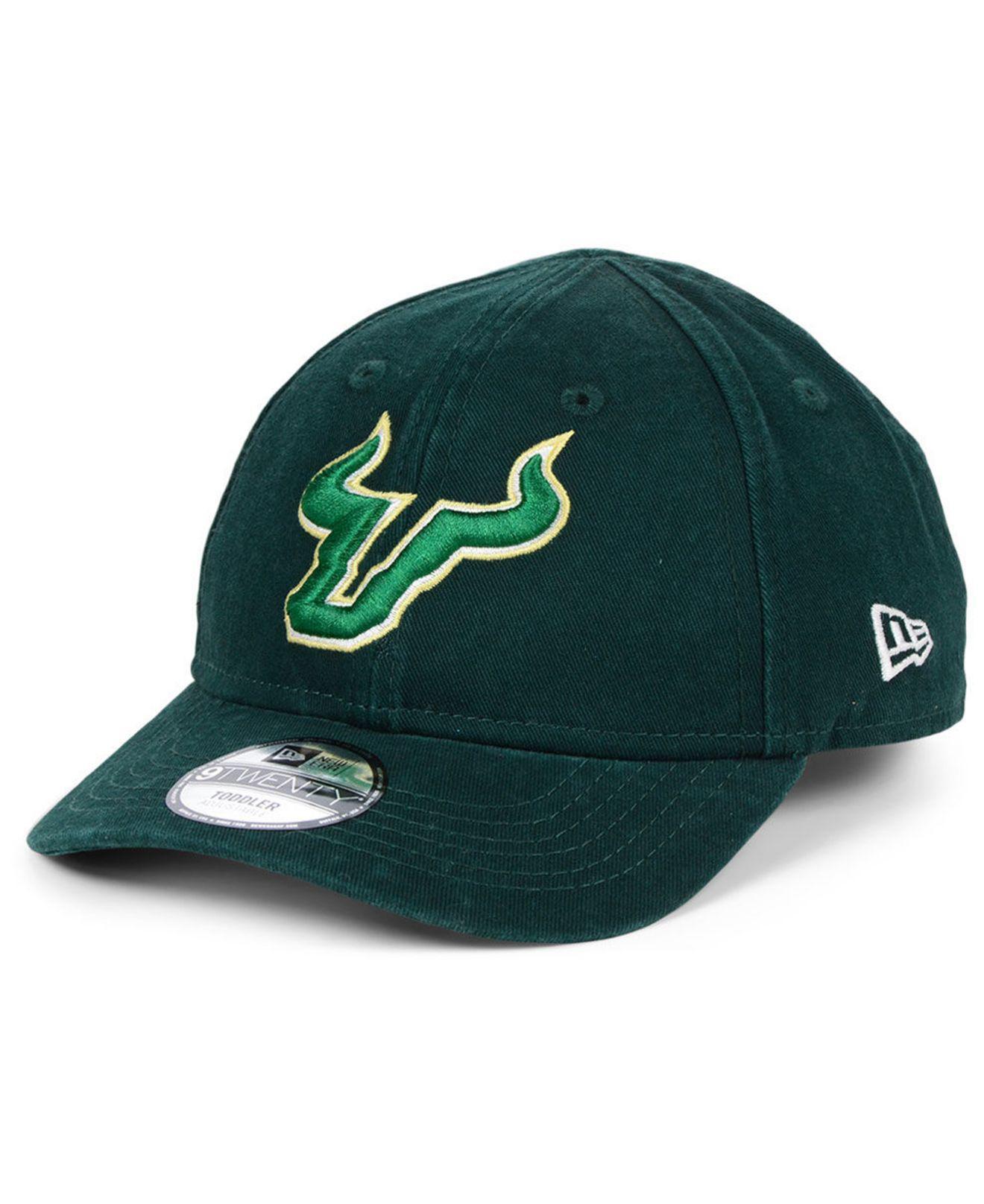 quality design 22d50 ac735 ... italy ktz. mens green toddlers south florida bulls junior 9twenty cap  25157 d6999