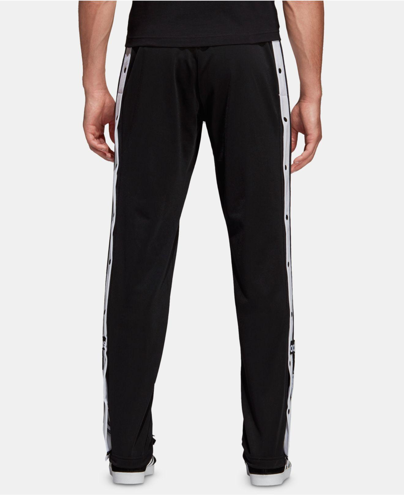 adidas Originals Adicolor Snap Pants in Black for Men Lyst
