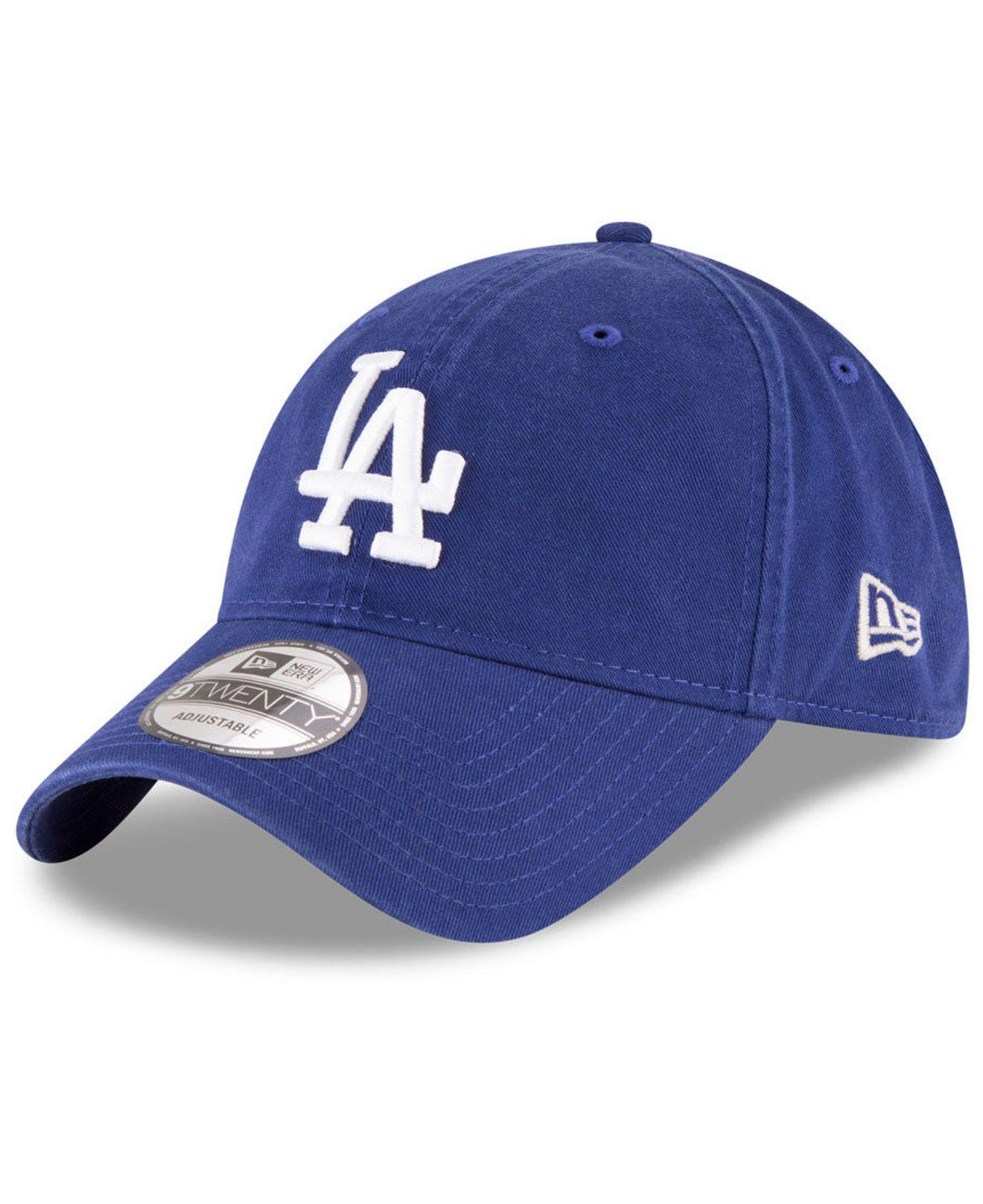 promo code b98fb b76c2 ... discount code for ktz. mens blue los angeles dodgers on field replica  9twenty fitted cap