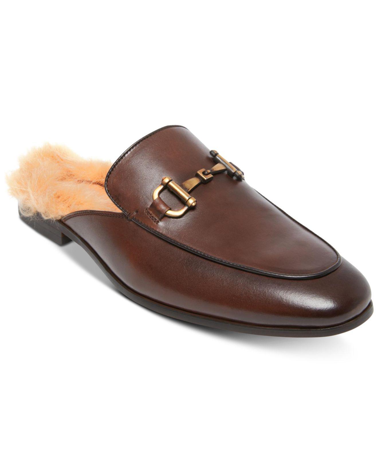 b4f96224d03 Lyst - Steve Madden Difranco Leather Bit Slip-ons in Brown for Men