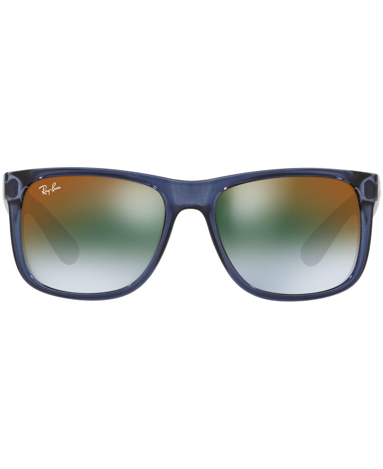Lyst - Ray-Ban Sunglasses, Justin Rb4165 54 in Blue for Men 43b5ad905345