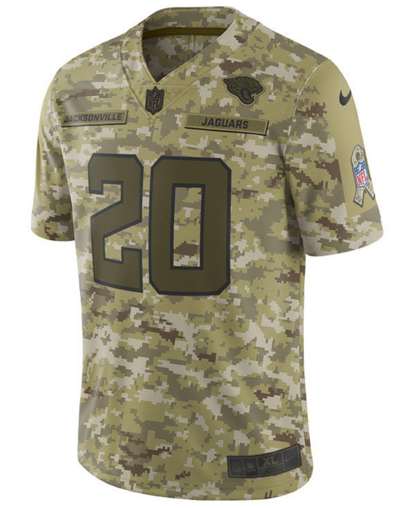 promo code 5bae0 4ffff Nike Jalen Ramsey Jacksonville Jaguars Salute To Service ...