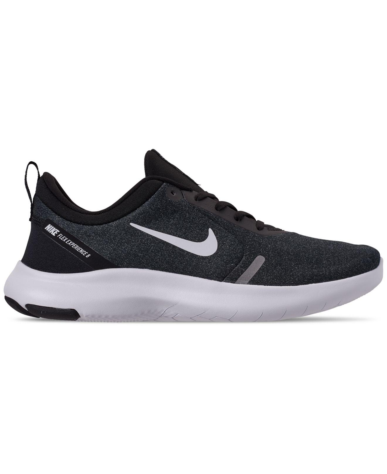 4e3c0db8ac59 Lyst - Nike Flex Experience Rn 8 Extra Wide Width Running Sneakers From  Finish Line in Black for Men