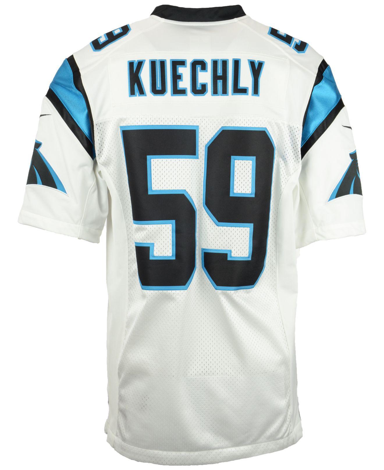 Lyst - Nike Men s Luke Kuechly Carolina Panthers Limited Jersey in ... 2c32400ab
